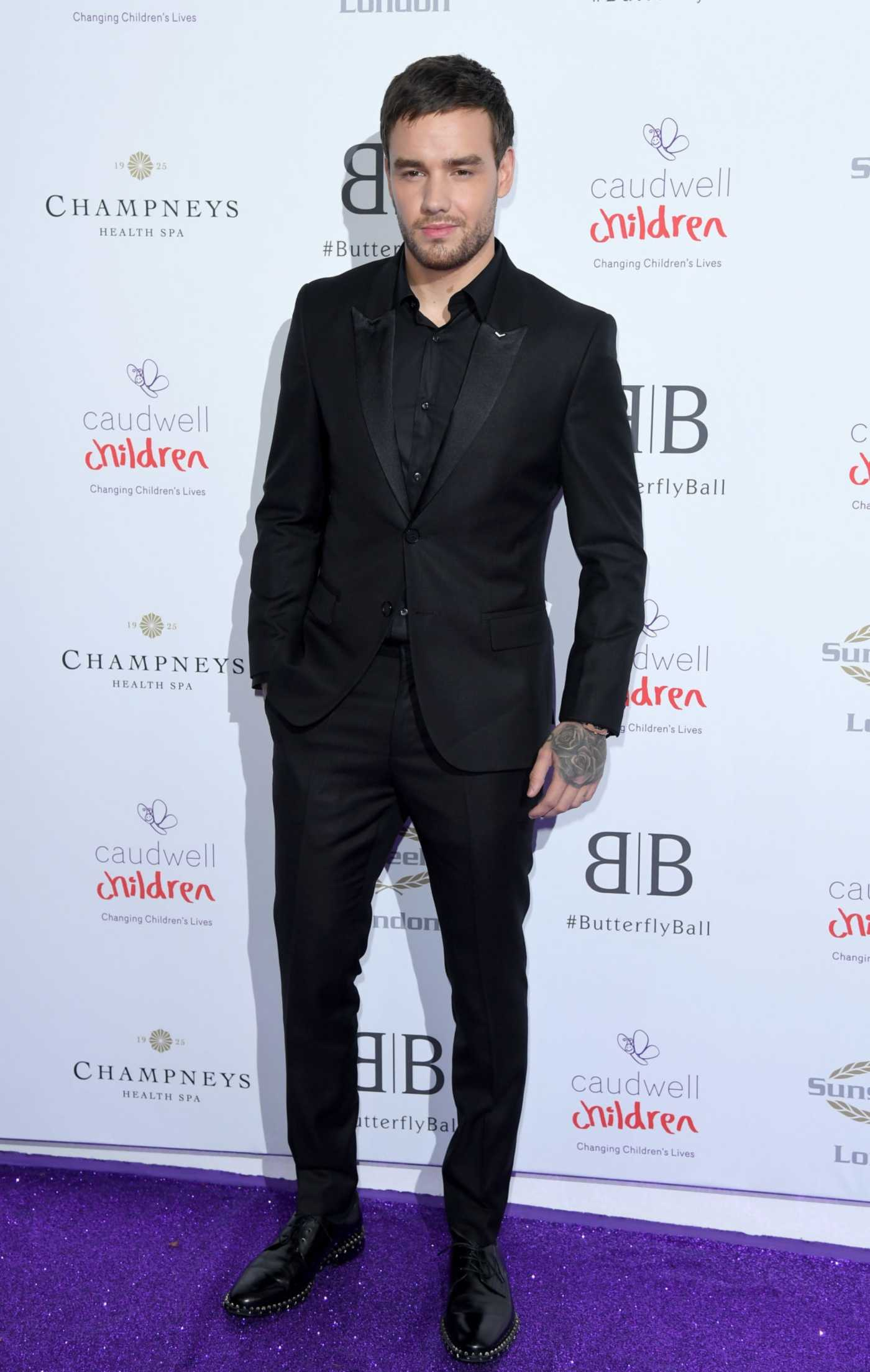 Liam Payne Attends The Caudwell Children Butterfly Ball at The Grosvenor House Hotel in London 06/13/2019