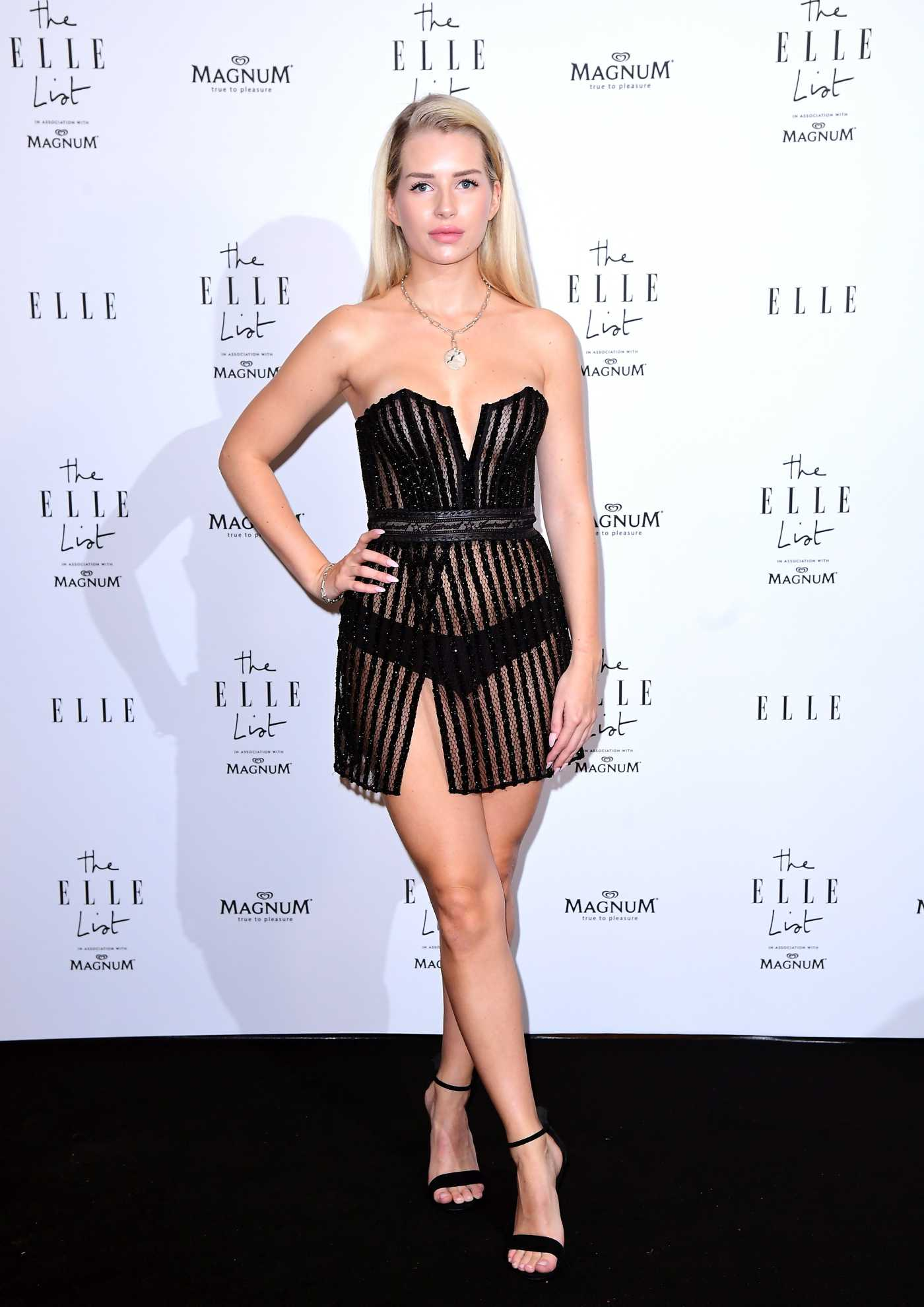 Lottie Moss Celebrates the ELLE List in London 06/19/2019