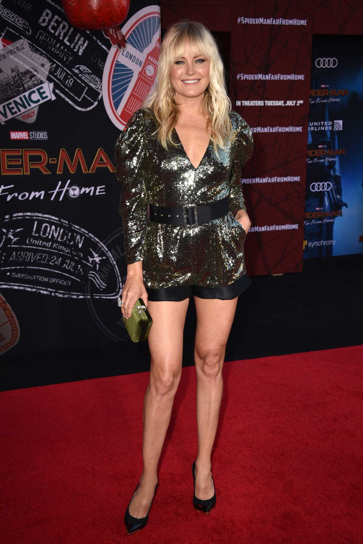 Malin Akerman Attends the Spider-Man Far From Home Premiere at TCL Chinese Theatre in Hollywood 06/26/2019