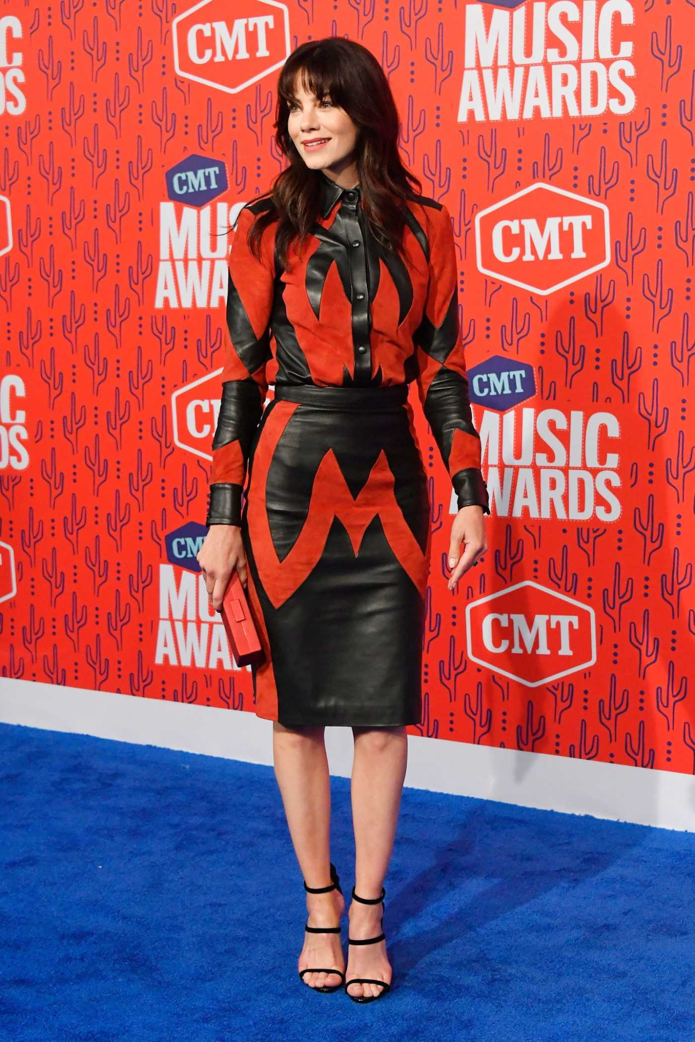 Michelle Monaghan Attends 2019 CMT Music Awards at Bridgestone Arena in Nashville 06/05/2019