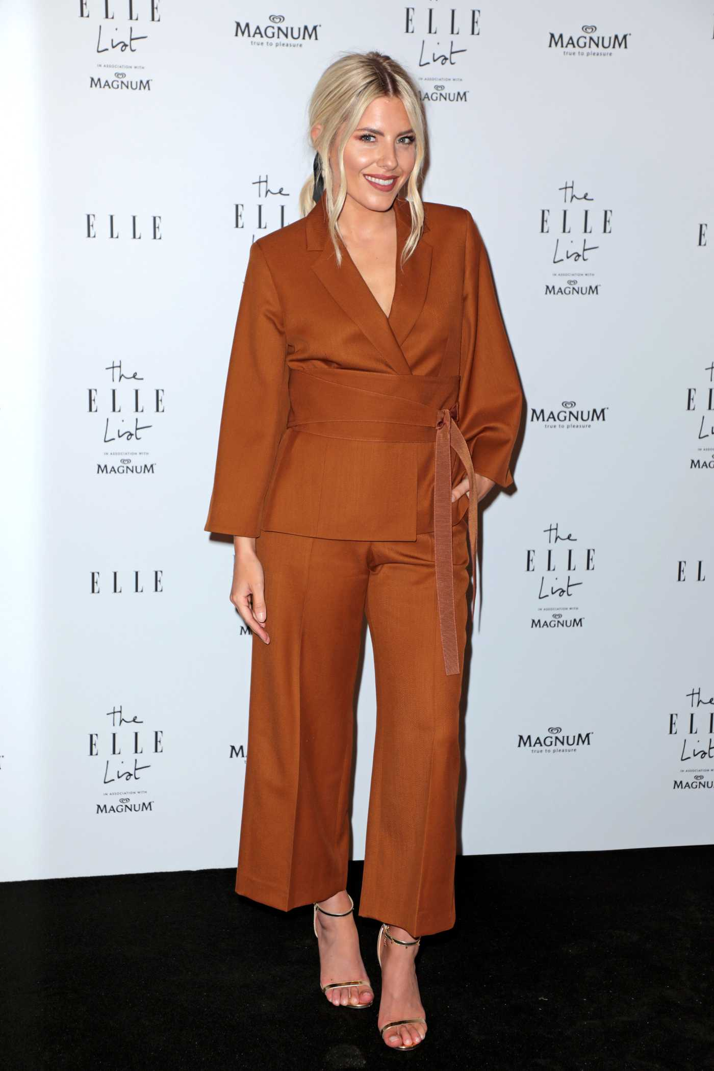 Mollie King Celebrates the ELLE List in London 06/19/2019