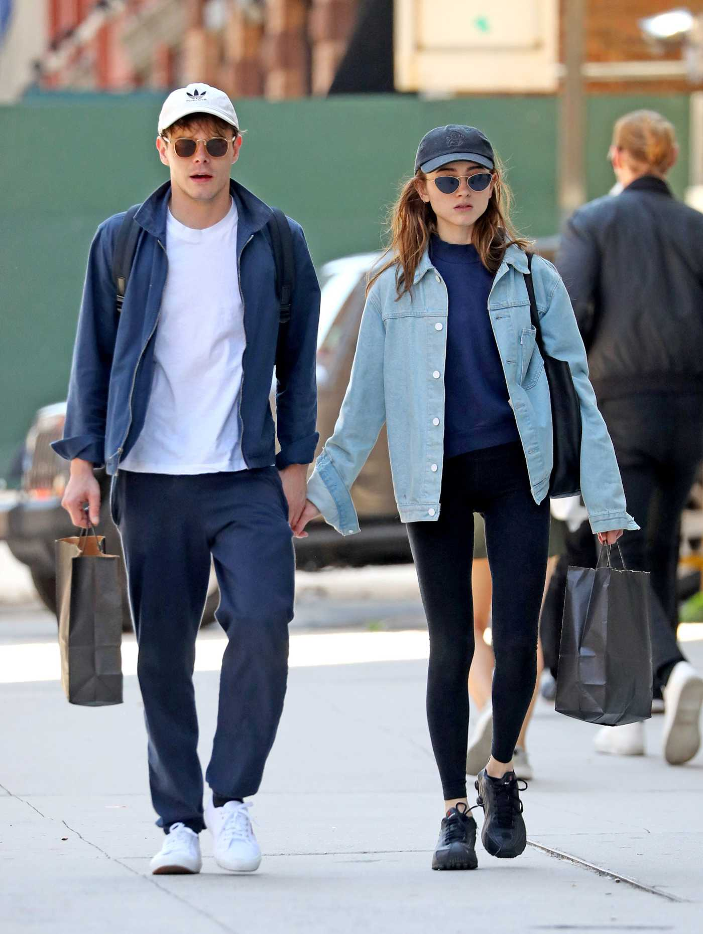 Natalia Dyer Goes Shopping Out with Charlie Heaton in NYC 06/03/2019