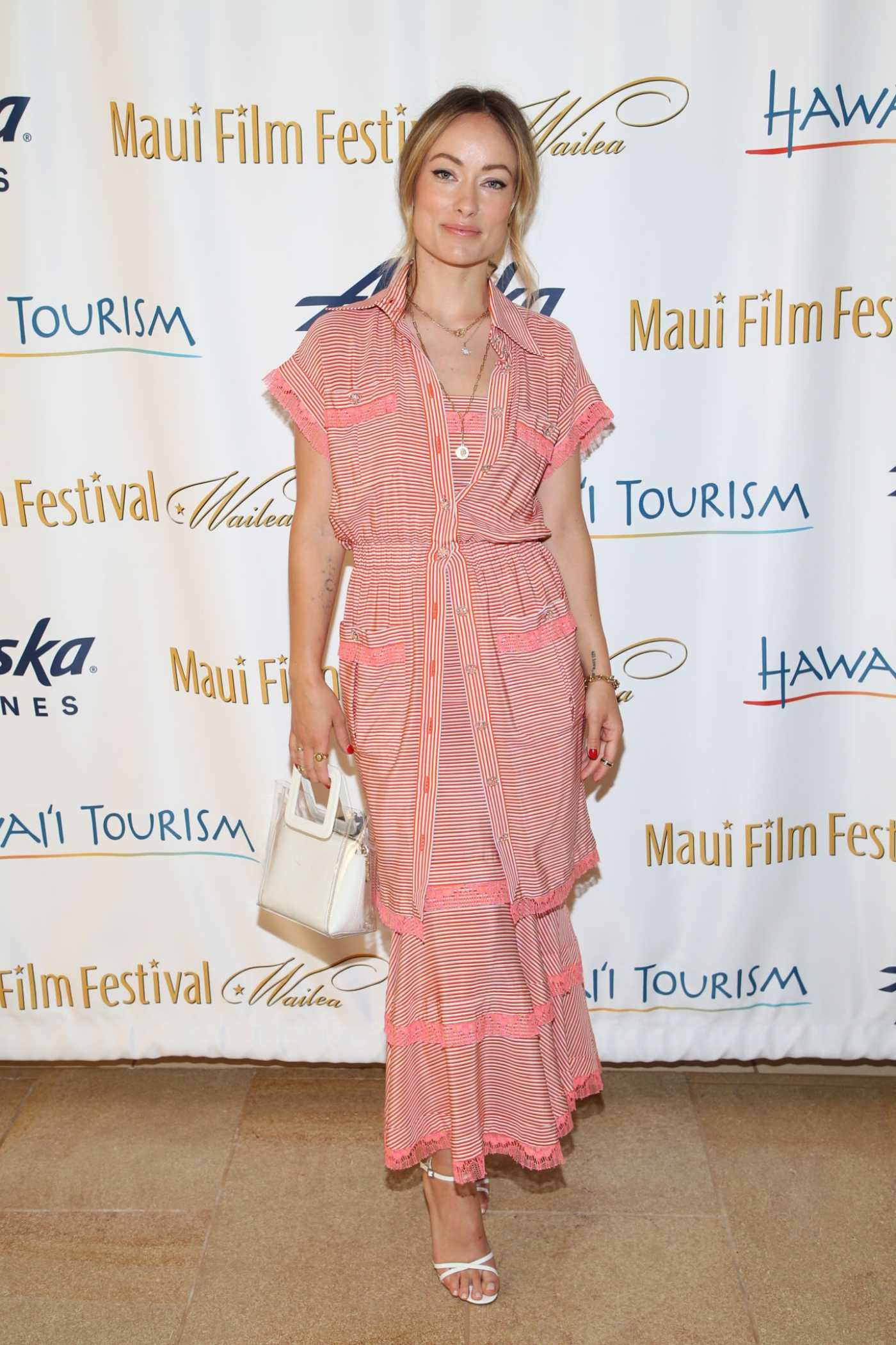 Olivia Wilde Attends the 2019 Maui Film Festival in Wailea, Hawaii 06/16/2019