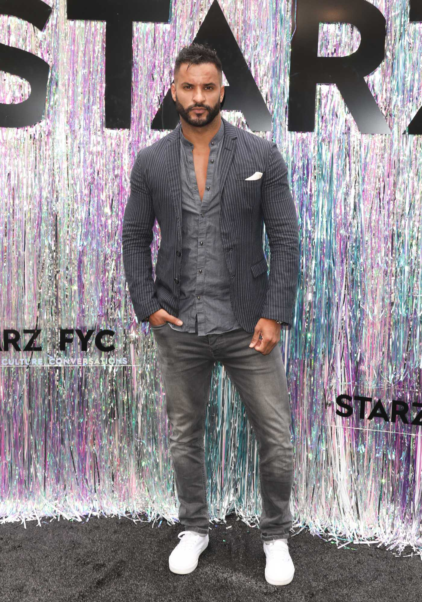 Ricky Whittle Attends Starz FYC 2019 Where Creativity, Culture and Conversations Collide in Century City 06/02/2019