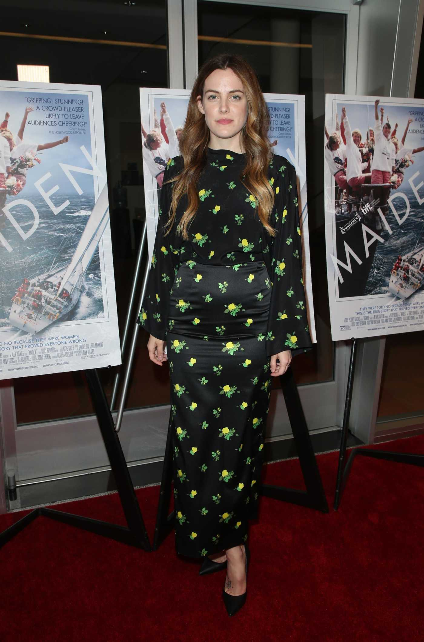 Riley Keough Attends the Maiden Premiere in LA 06/14/2019