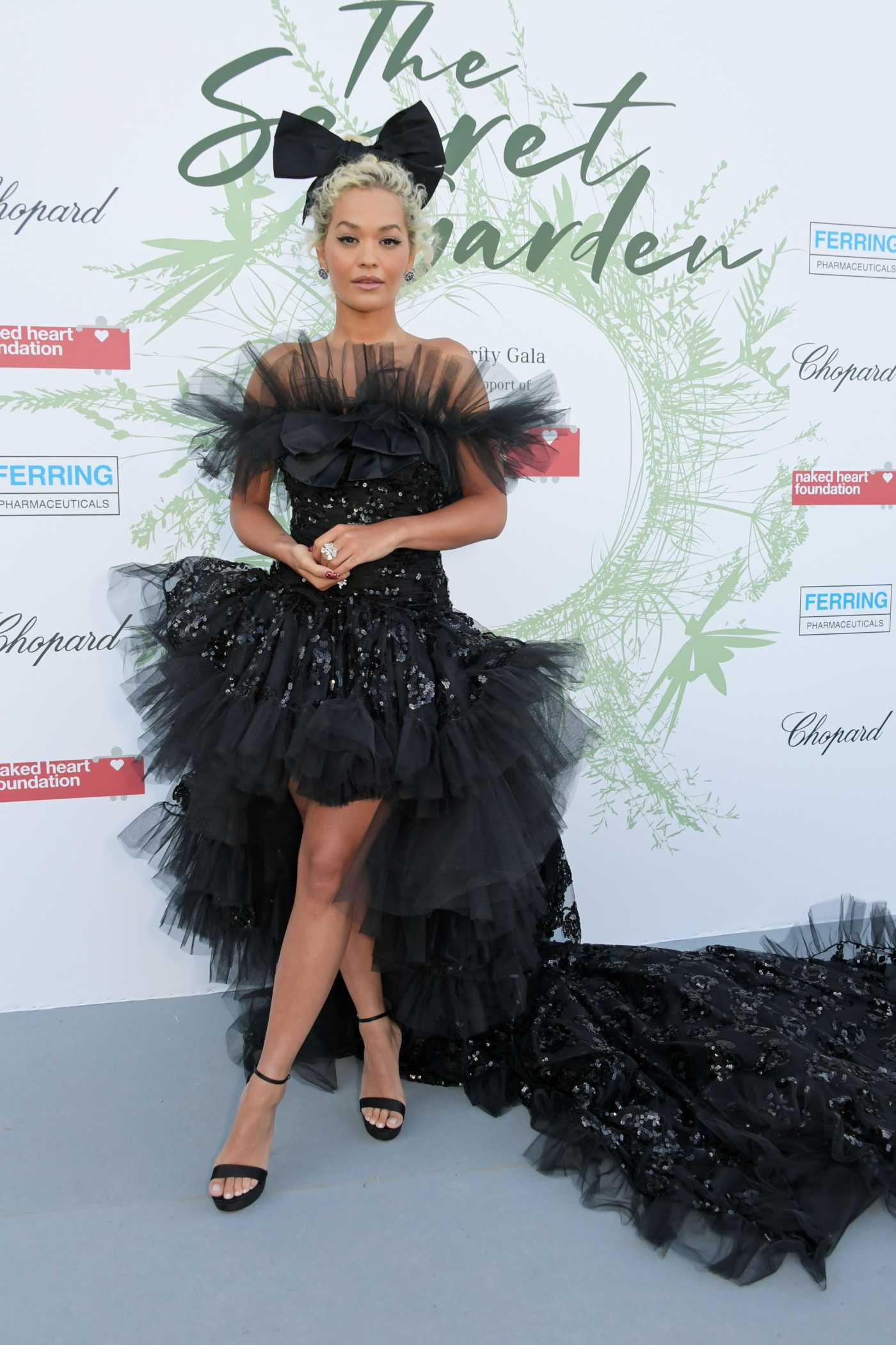 Rita Ora Attends The Secret Garden Charity Gala at Chateau de Coppet in Geneva 06/13/2019