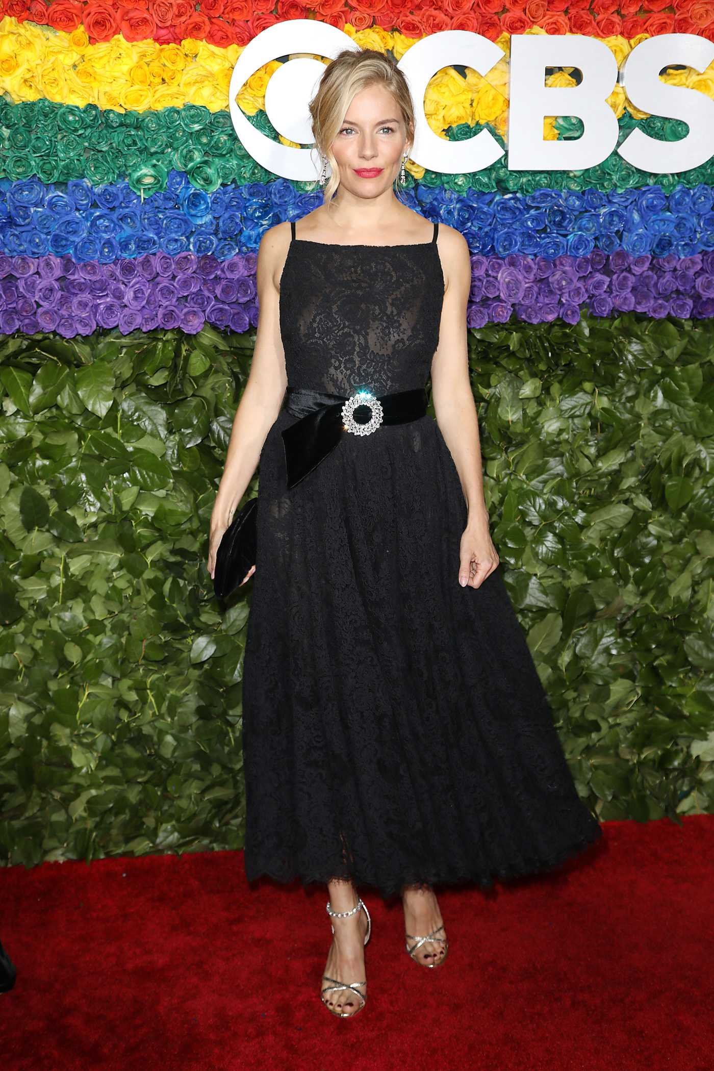 Sienna Miller Attends the 73rd Annual Tony Awards at Radio City Music Hall in New York 06/09/2019