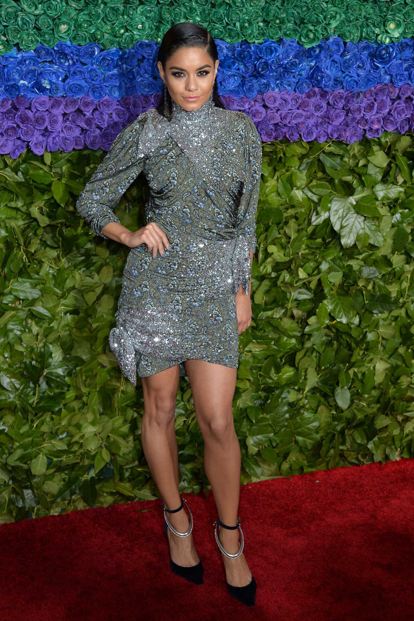 Vanessa Hudgens Attends the 73rd Annual Tony Awards at Radio City Music Hall in New York 06/09/2019