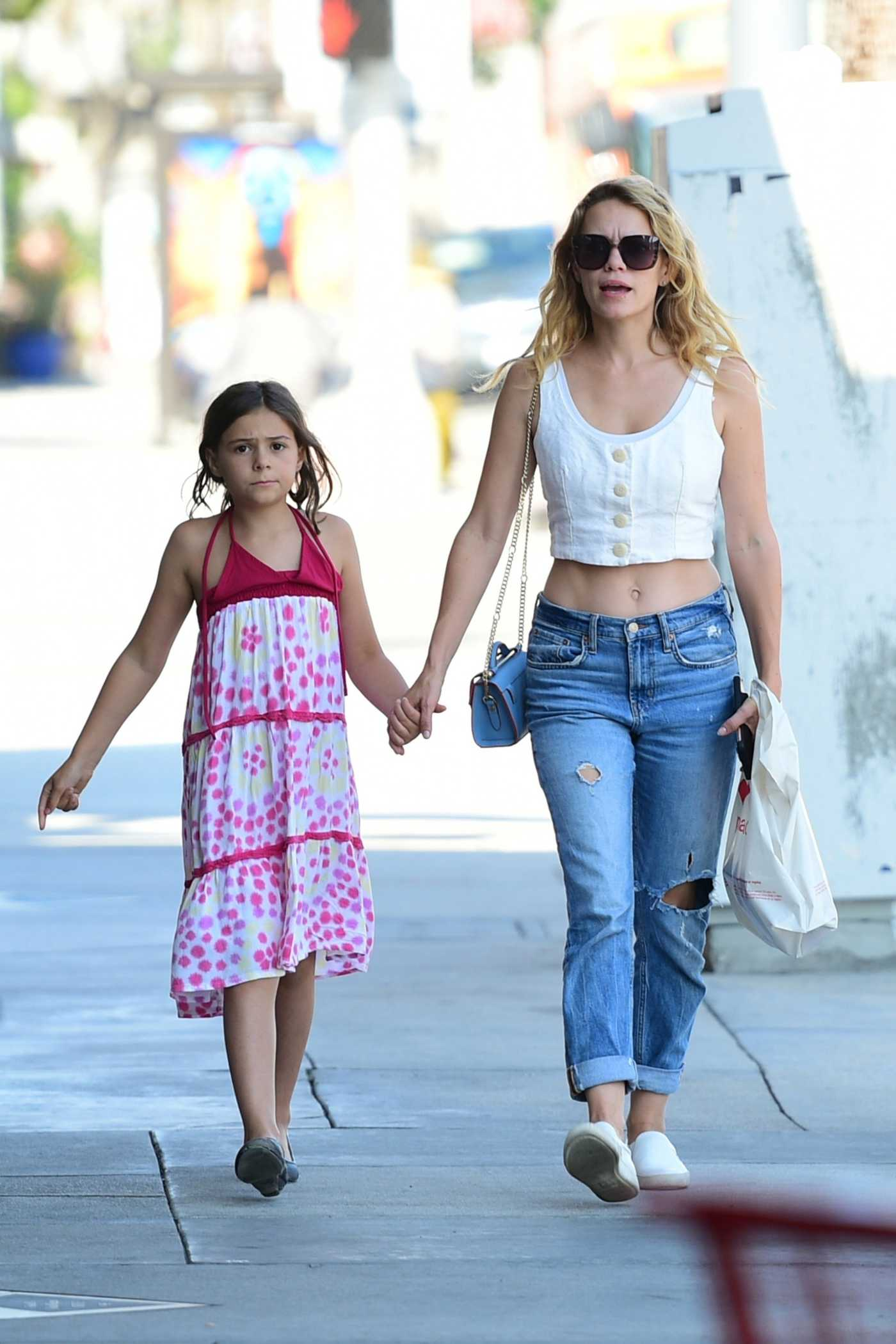 Bethany Joy Lenz Goes Shopping Out with Her Daughter in Studio City 07/05/2019