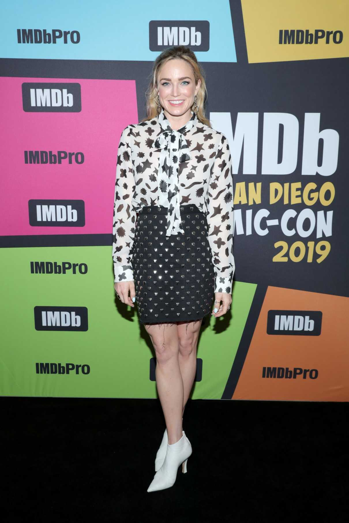 Caity Lotz Attends the IMDboat During 2019 Comic-Con at the IMDb Yacht in San Diego 07/19/2019