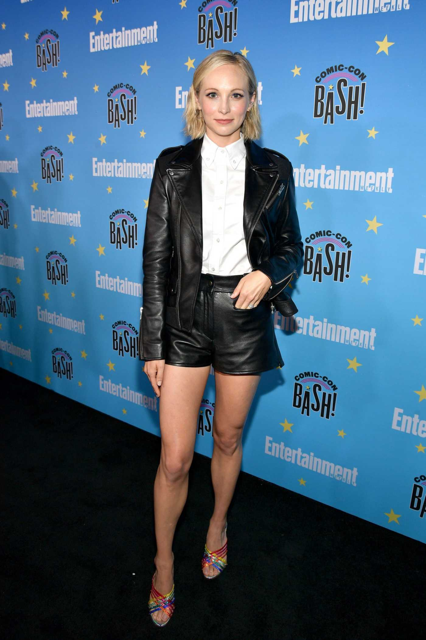 Candice King Attends Entertainment Weekly's Comic-Con Bash in San Diego 07/20/2019