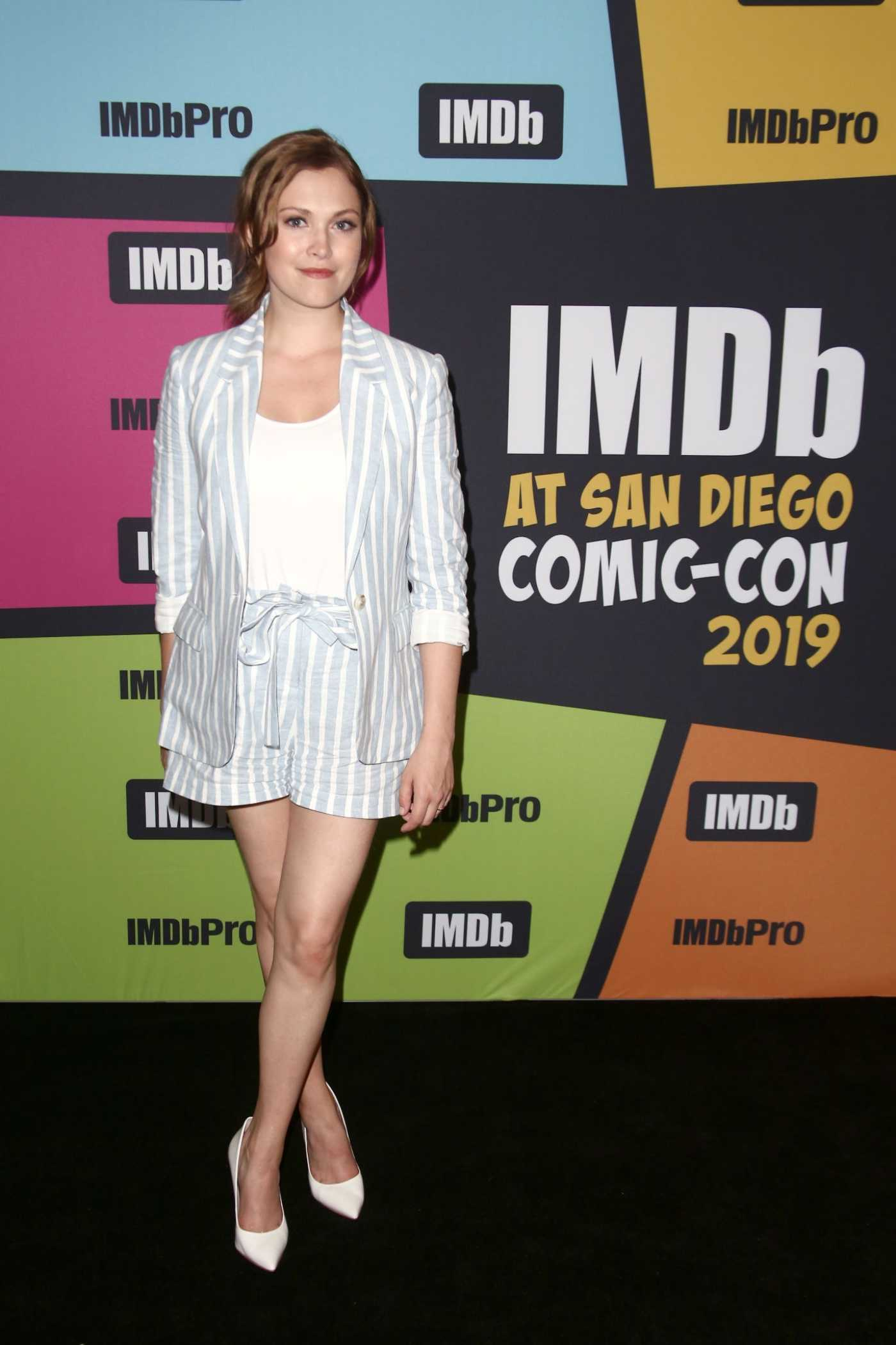 Eliza Taylor Attends the IMDboat During 2019 Comic-Con at the IMDb Yacht in San Diego 07/19/2019