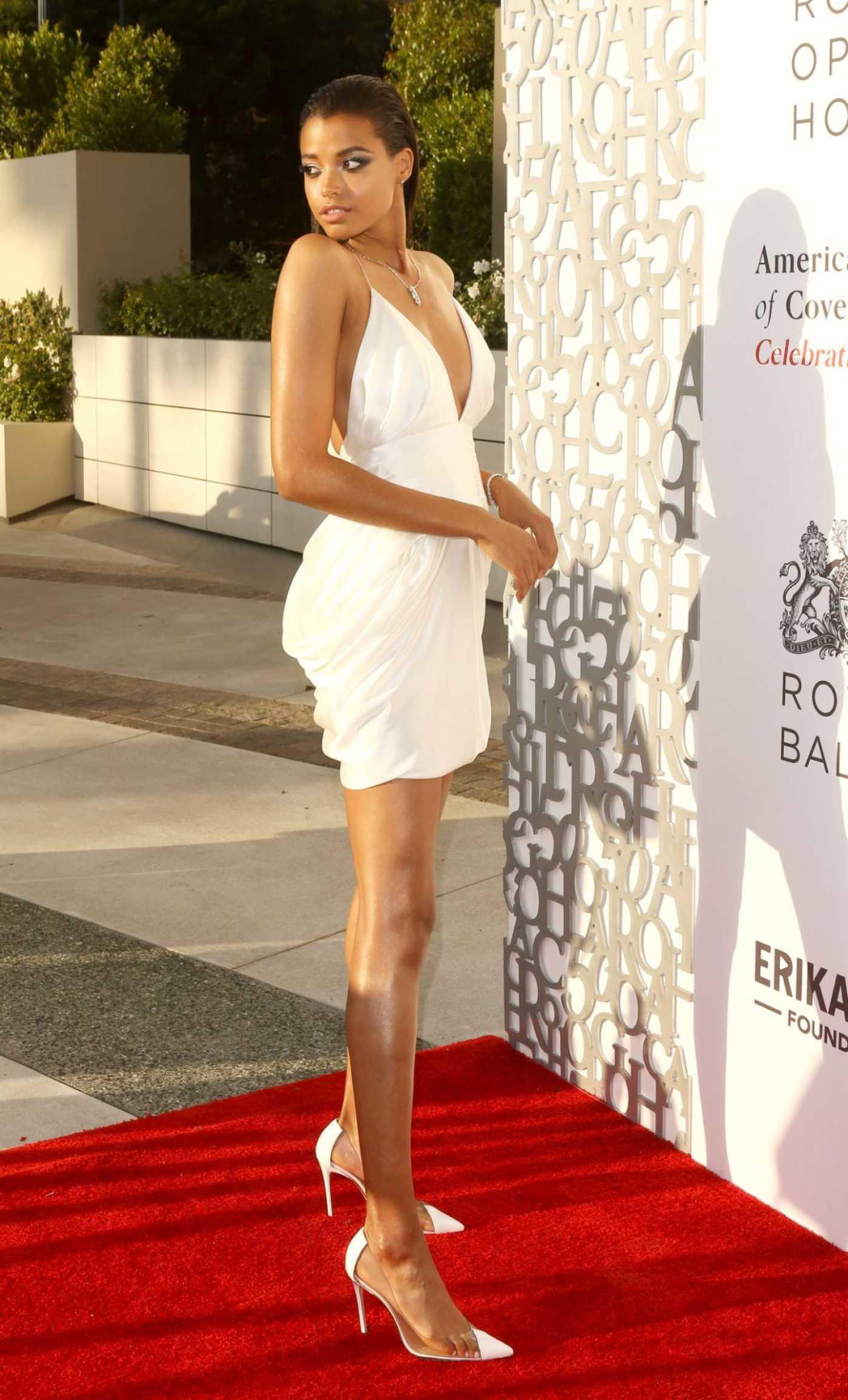 Ella Balinska Attends Afocg 50th Anniversary Celebration in Beverly Hills 07/10/2019