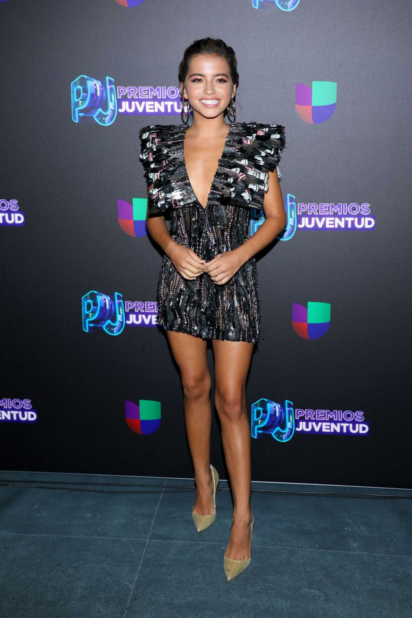 Isabela Moner Attends Premios Juventud 2019 at Watsco Center in Coral Gables 07/18/2019