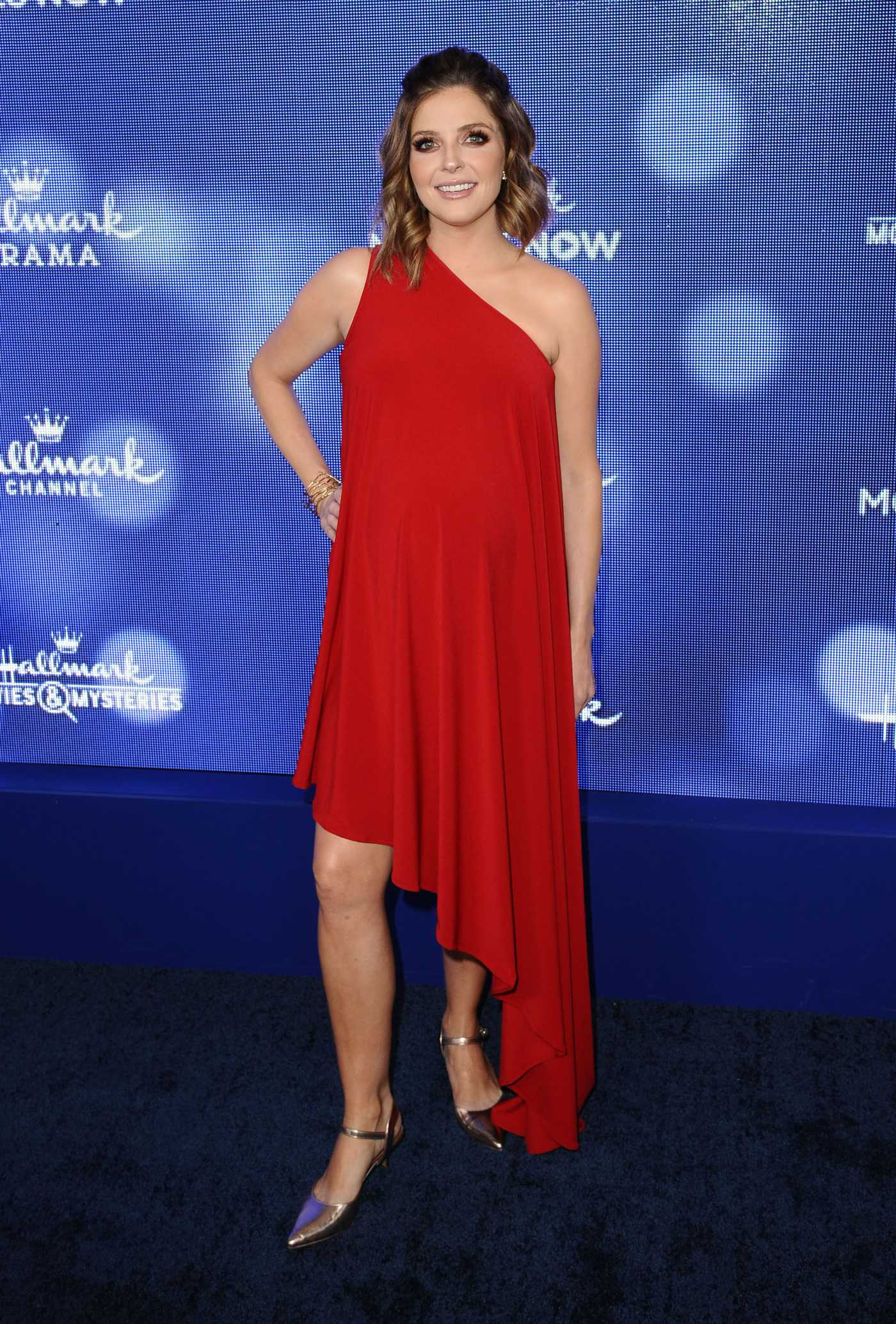 Jen Lilley Attends Hallmark Movies and Mysteries Summer TCA Press Tour Event in Beverly Hills 07/26/2019