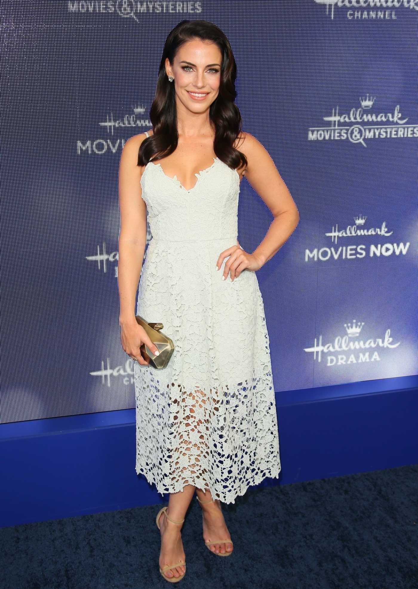 Jessica Lowndes Attends Hallmark Movies and Mysteries Summer TCA Press Tour Event in Beverly Hills 07/26/2019
