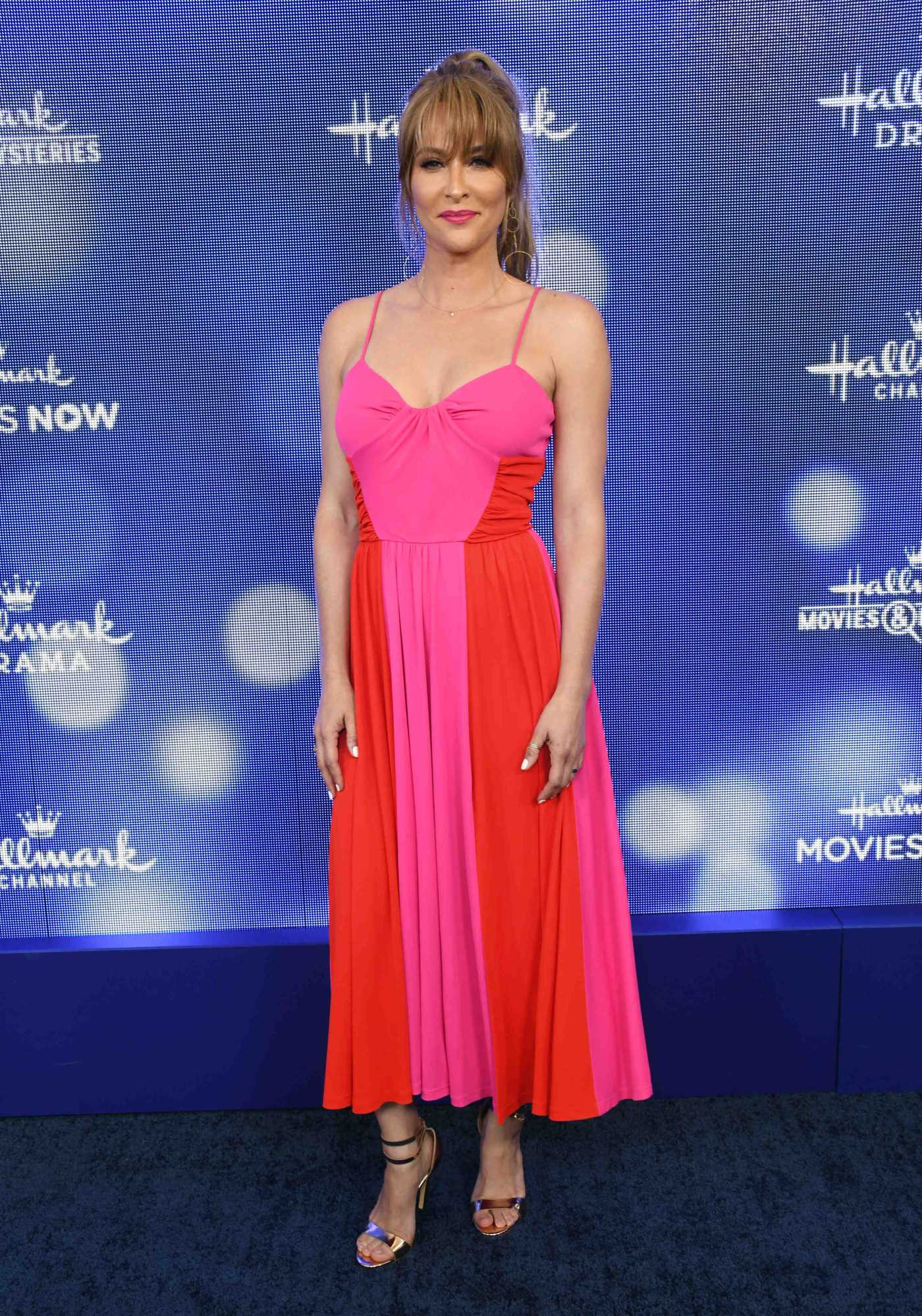 Jill Wagner Attends Hallmark Movies and Mysteries Summer TCA Press Tour Event in Beverly Hills 07/26/2019