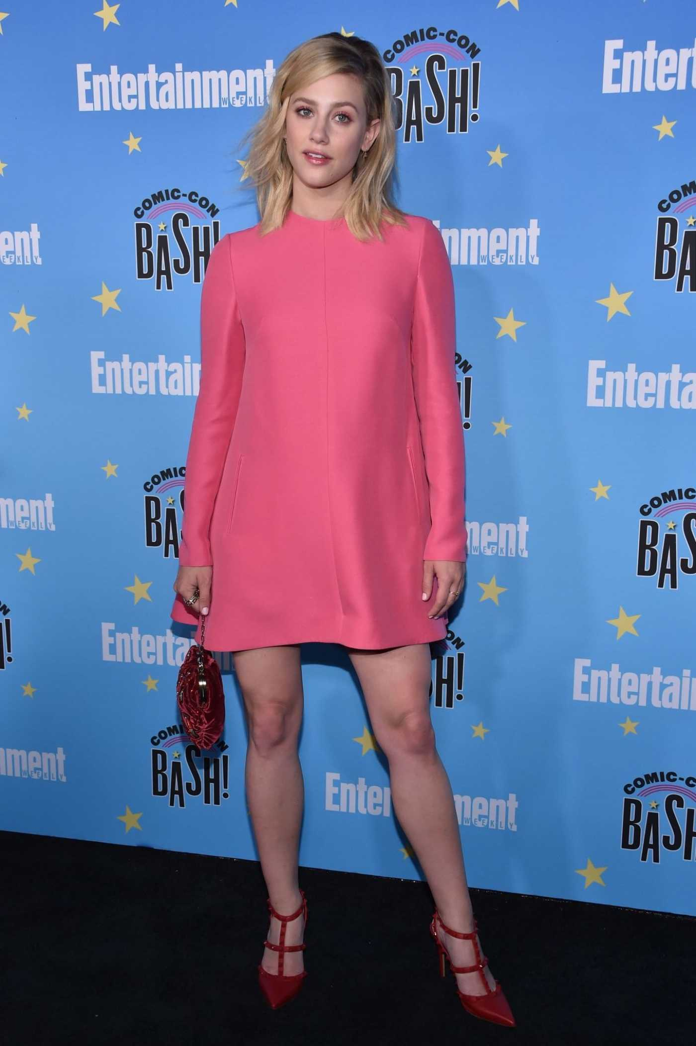Lili Reinhart Attends Entertainment Weekly's Comic-Con Bash in San Diego 07/20/2019