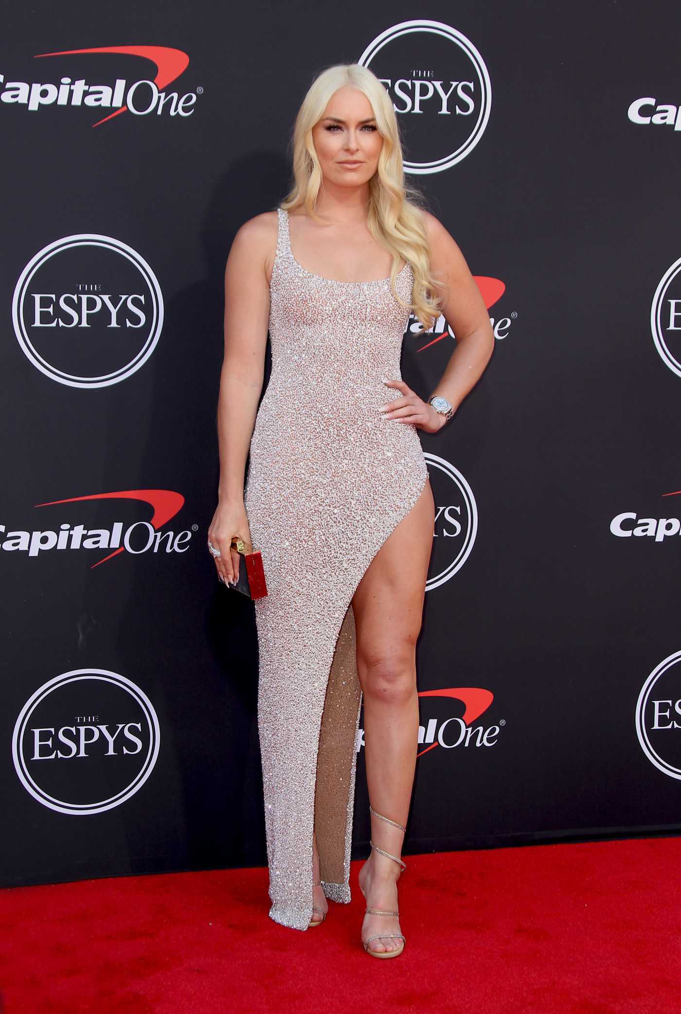 Lindsey Vonn Attends 2019 ESPY Awards in Los Angeles 07/10/2019