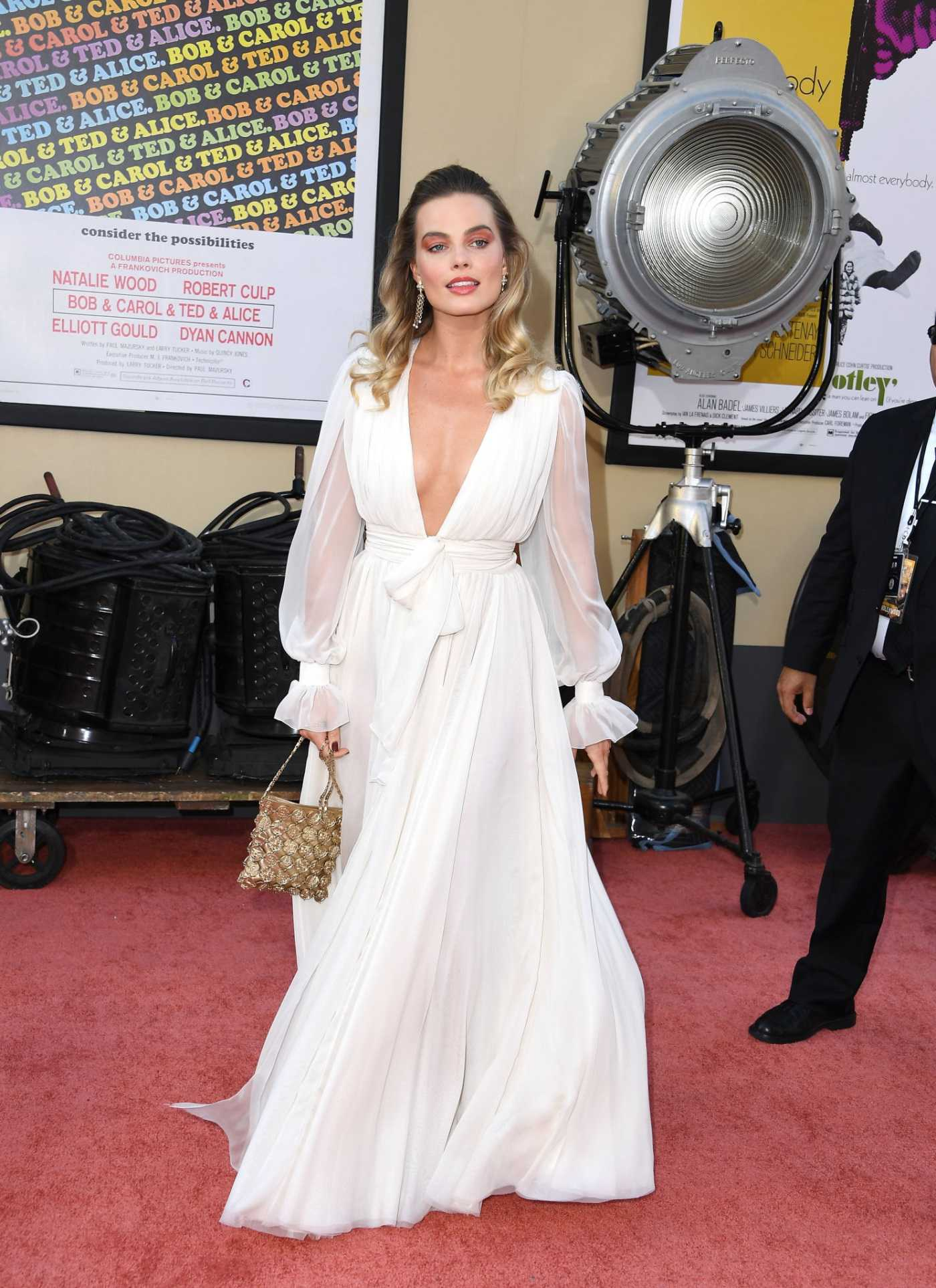 Margot Robbie Attends Once Upon A Time...In Hollywood Premiere in Los Angeles 07/22/2019