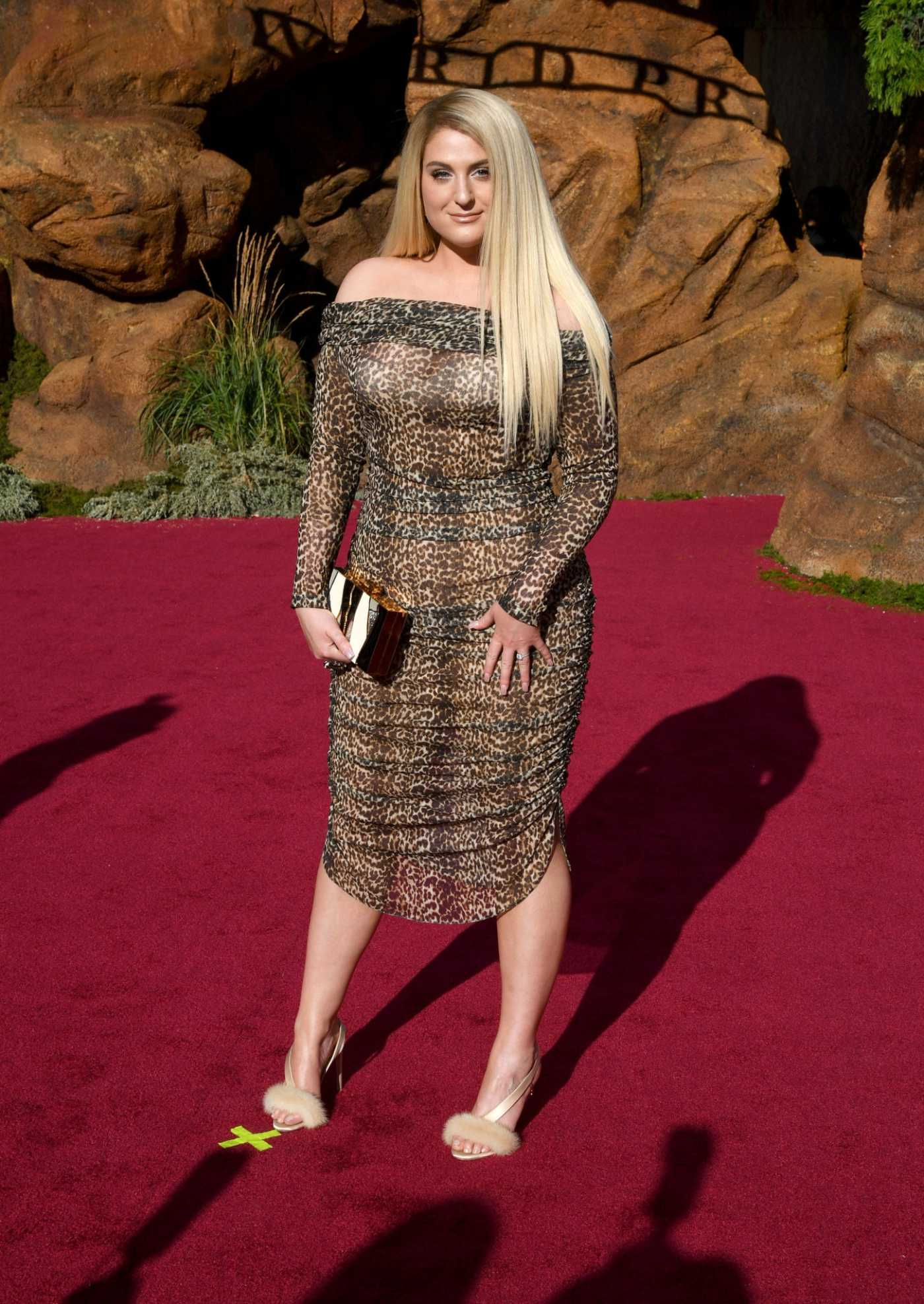 Meghan Trainor Attends The Lion King Premiere at Dolby Theatre in Hollywood 07/09/2019