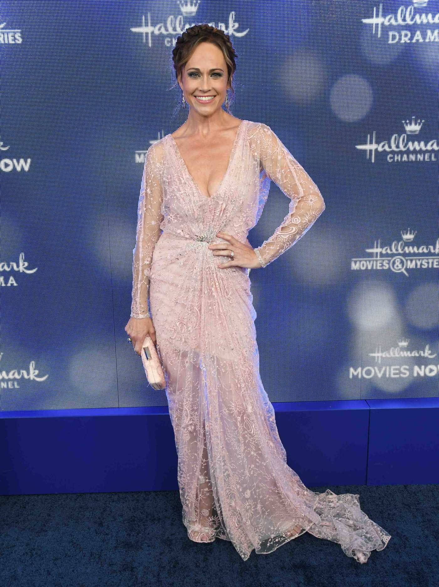 Nikki DeLoach Attends Hallmark Movies and Mysteries Summer TCA Press Tour Event in Beverly Hills 07/26/2019