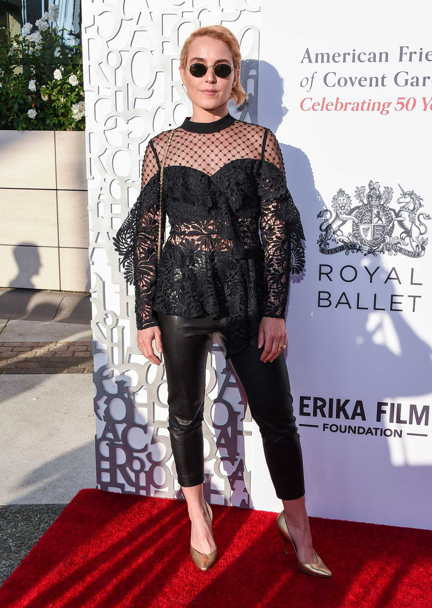 Noomi Rapace Attends American Friends of Covent Garden 50th Anniversary Celebration in Beverly Hills 07/10/2019