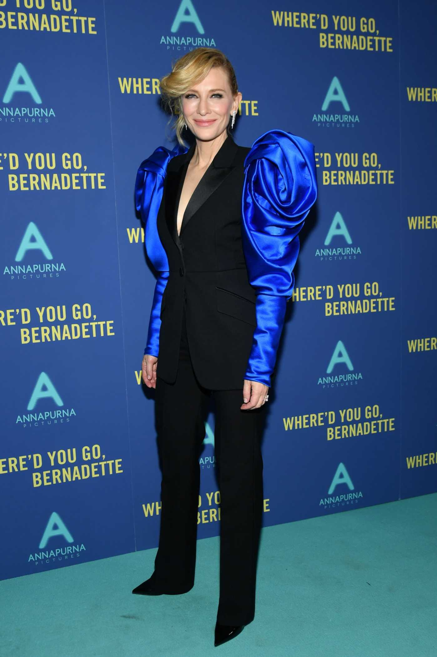 Cate Blanchett Attends the Where'd You Go, Bernadette Screening at Metrograph in New York City 08/12/2019
