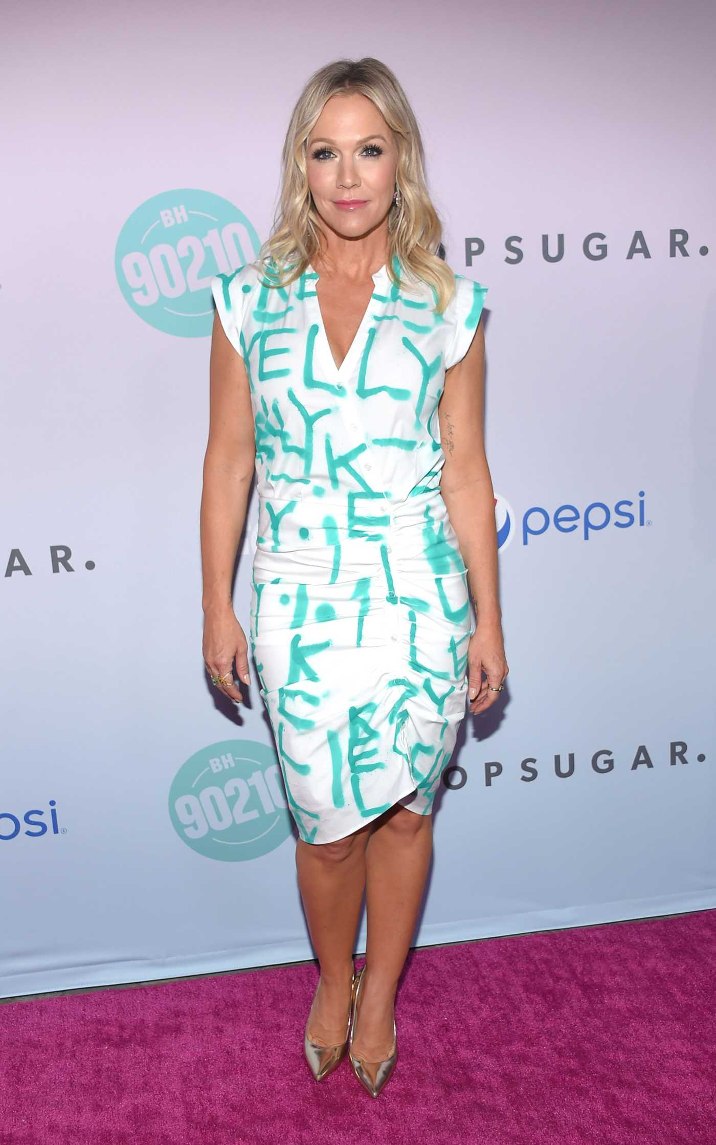 Jennie Garth Attends BH90210 Peach Pit Pop-Up in Los Angeles 08/03/2019