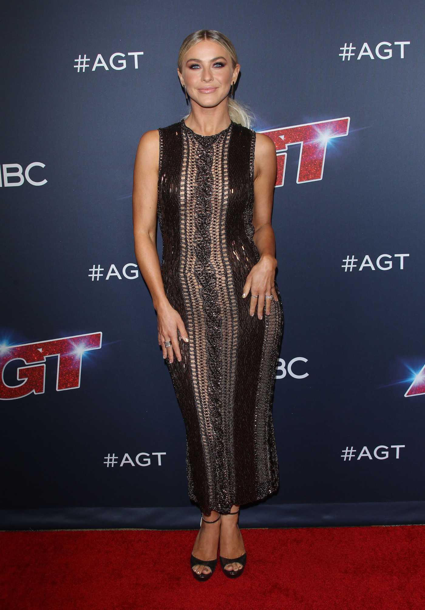 Julianne Hough Attends America's Got Talent Season 14 Live Show Red Carpet at Dolby Theatre in Hollywood 08/27/2019