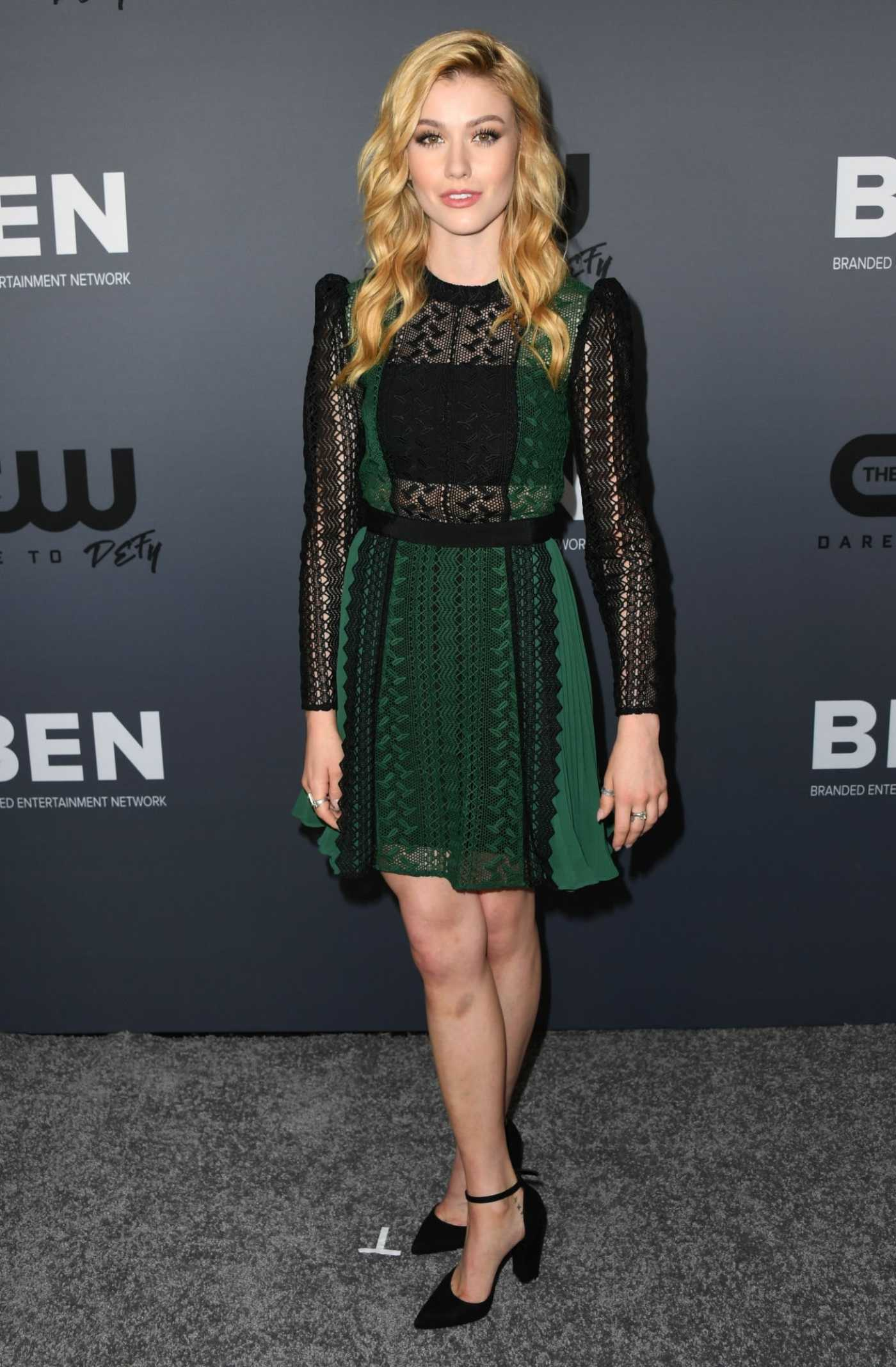 Katherine McNamara Attends The CW's Summer 2019 TCA Party at the Beverly Hilton Hotel in Beverly Hills 08/04/2019