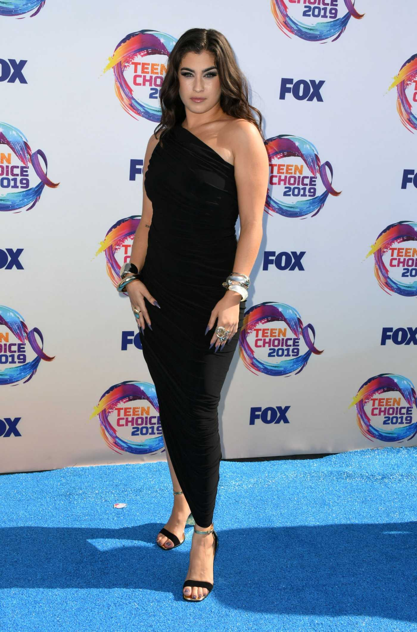 Lauren Jauregui Attends 2019 FOX's Teen Choice Awards in Hermosa Beach 08/11/2019