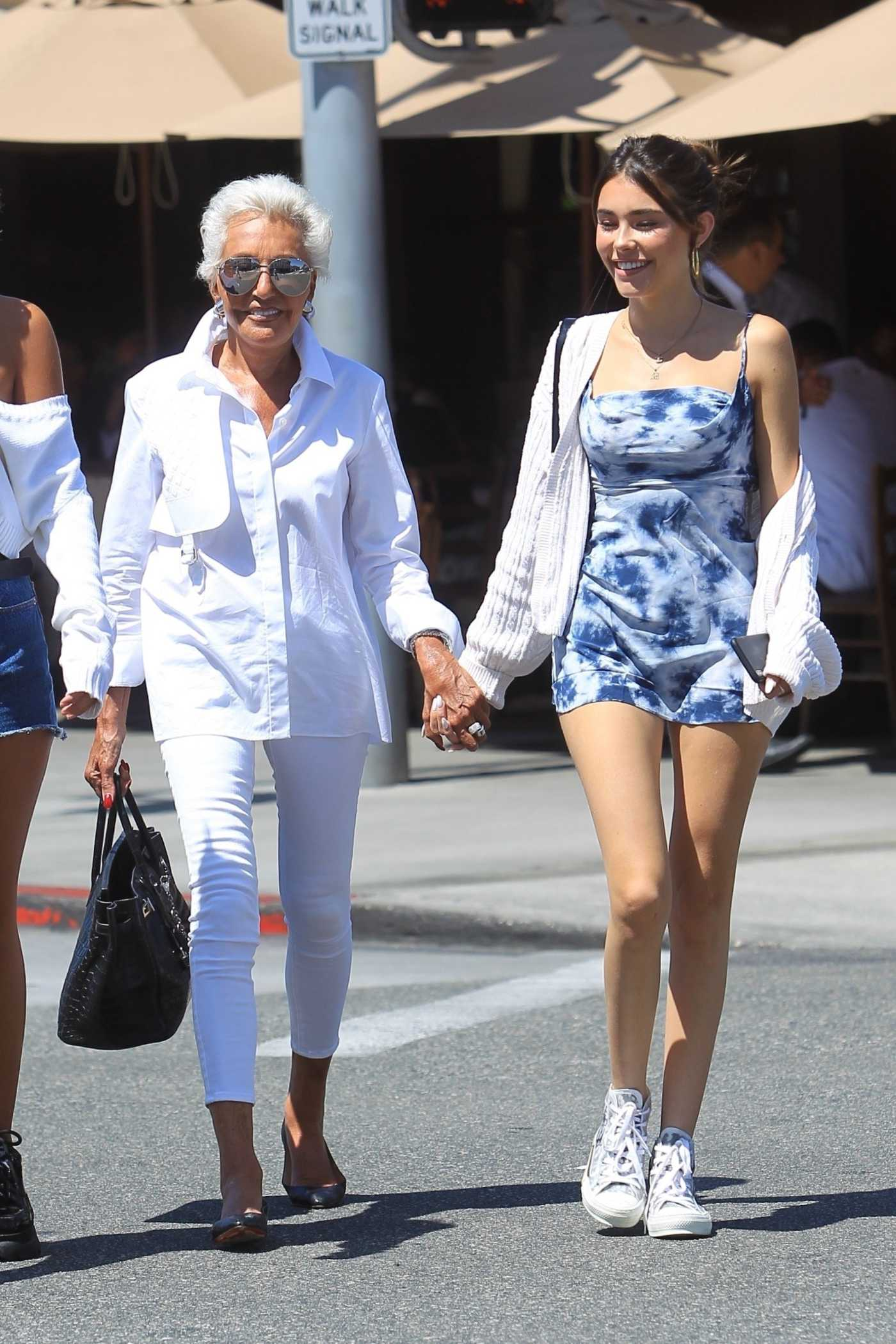 Madison Beer Was Seen Out with Her Grandma in West Hollywood 08/20/2019