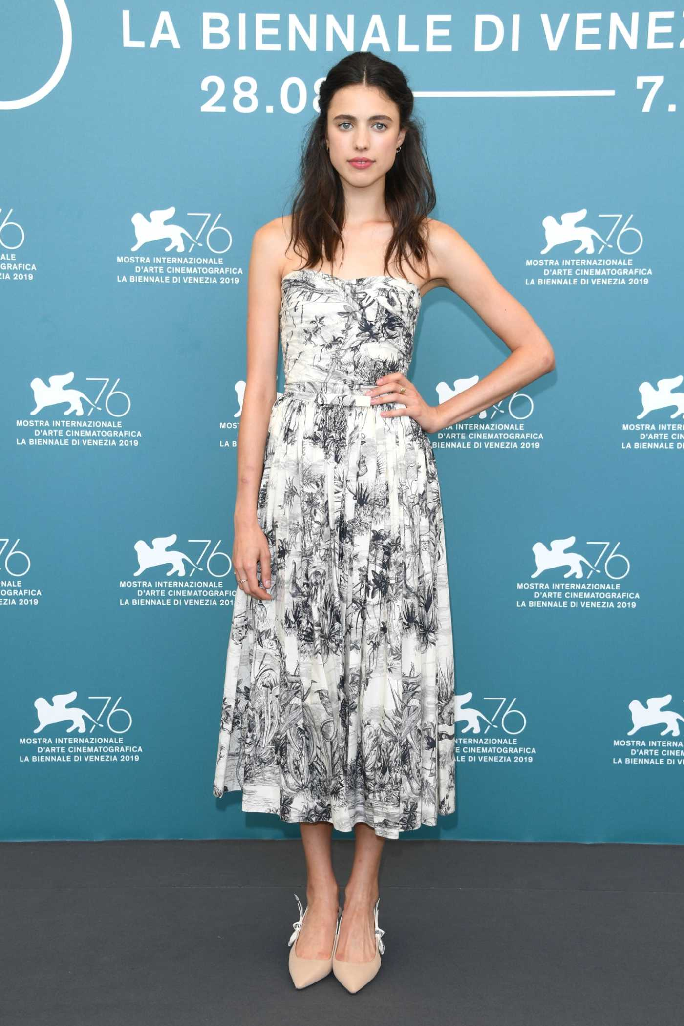 Margaret Qualley Attends Seberg Photocall During the 76th Venice Film Festival in Venice 08/30/2019
