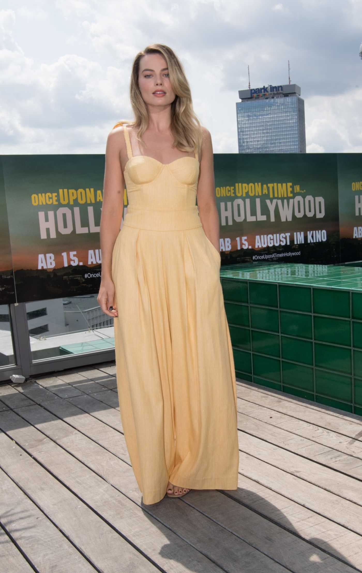 Margot Robbie Attends Once Upon A Time in Hollywood Premiere in Berlin 07/31/2019