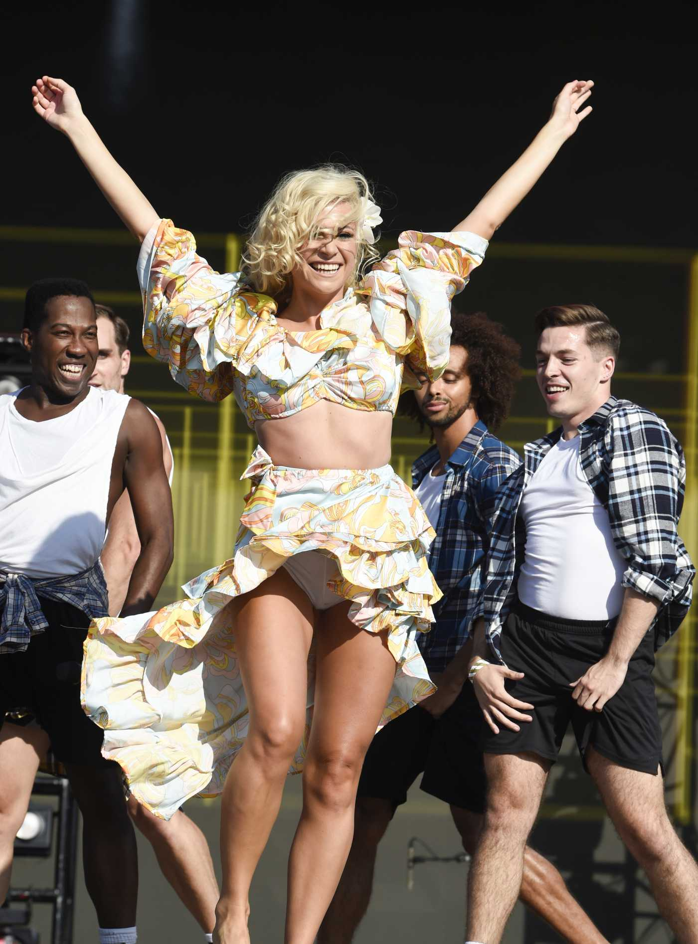 Pixie Lott Performs at 2019 Manchester Pride Festival in Manchester 08/25/2019