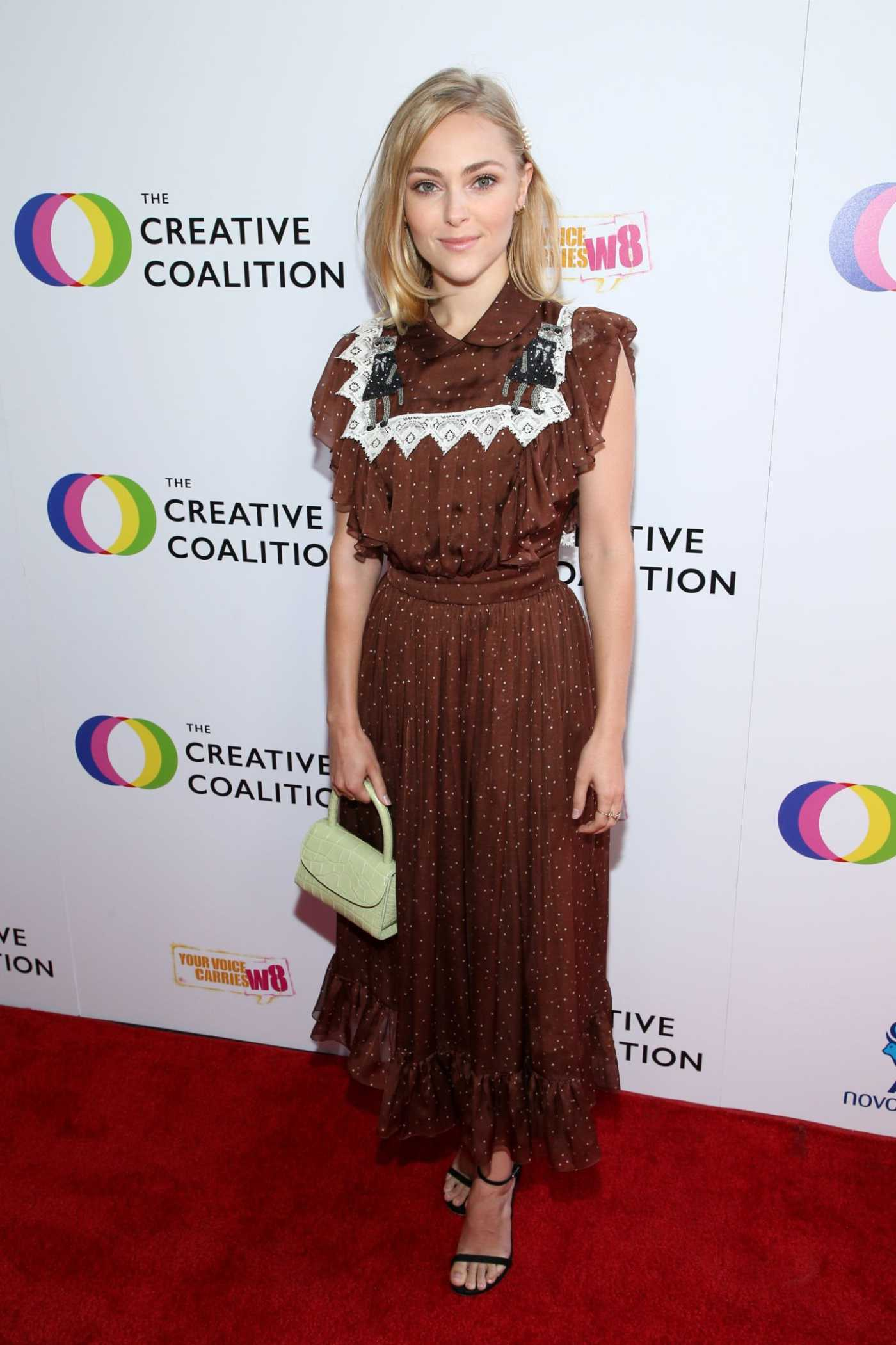 Annasophia Robb Attends the Creative Coalition's Annual Television Humanitarian Awards Gala in Beverly Hills 09/21/2019