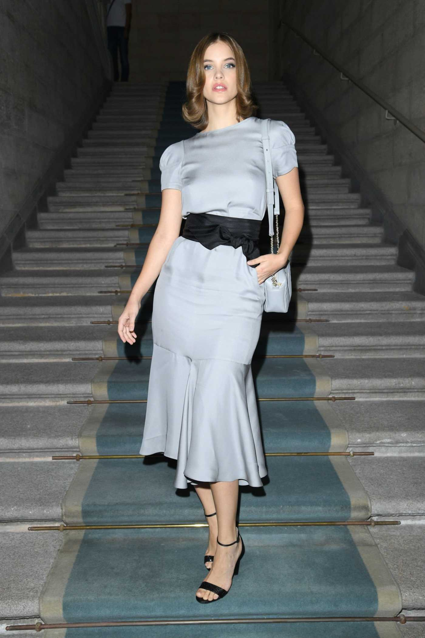 Barbara Palvin Attends Giorgio Armani Fashion Show During 2019 Milan Fashion Week in Milan 09/21/2019