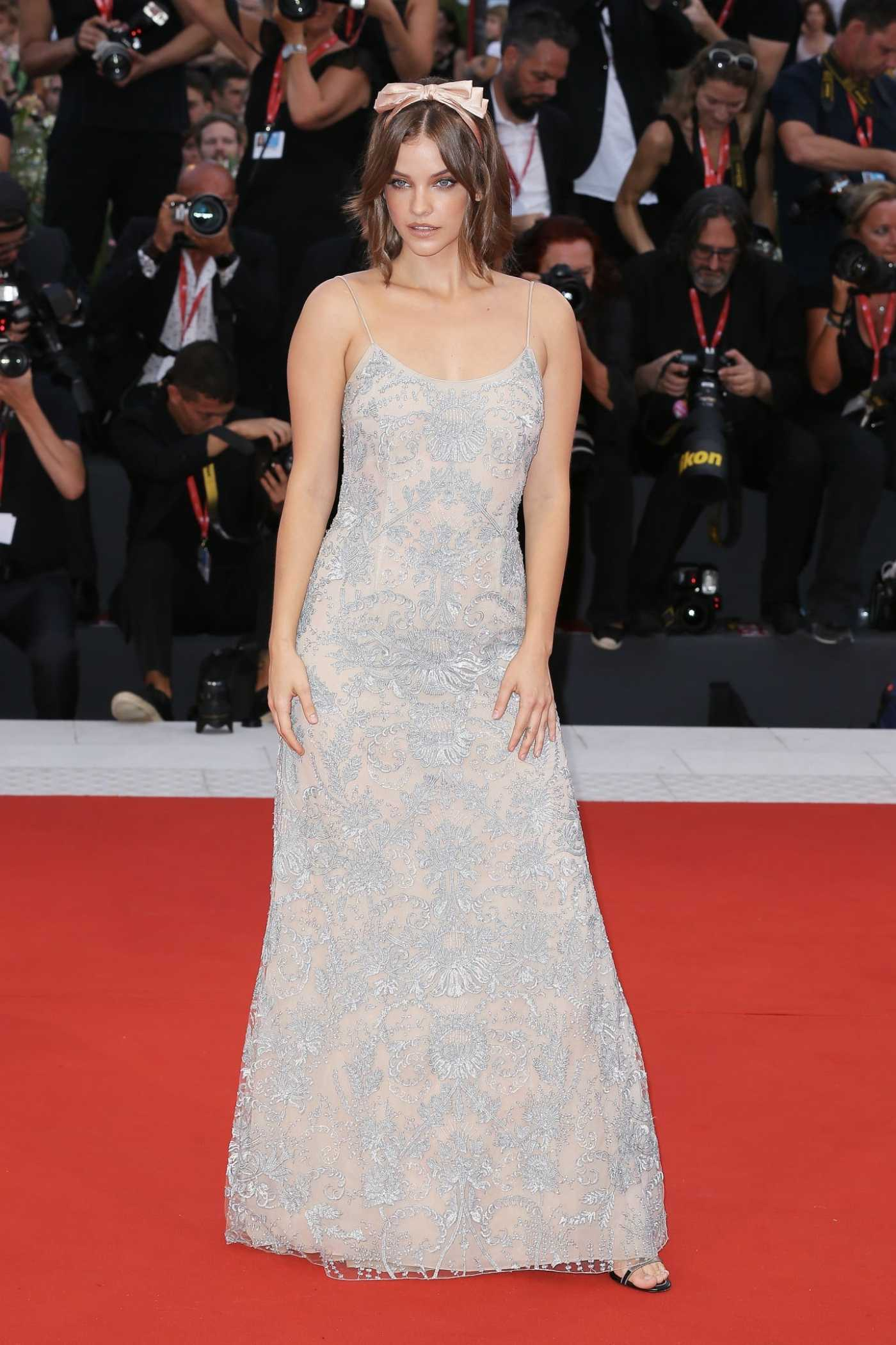 Barbara Palvin Attends Joker Screening During the 76th Venice Film Festival in Venice 08/31/2019