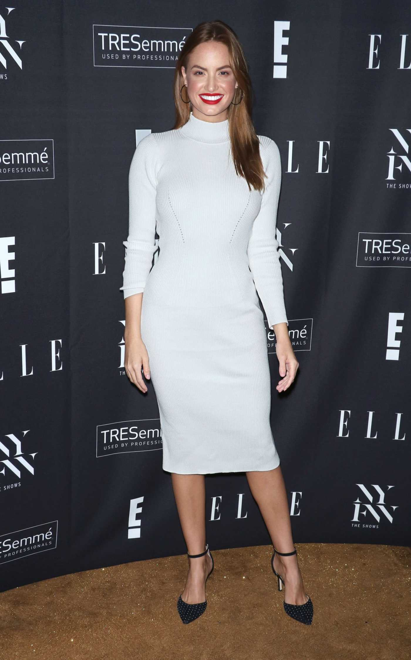 Haley Kalil Attends Elle Kickoff Party in New York 09/04/2019