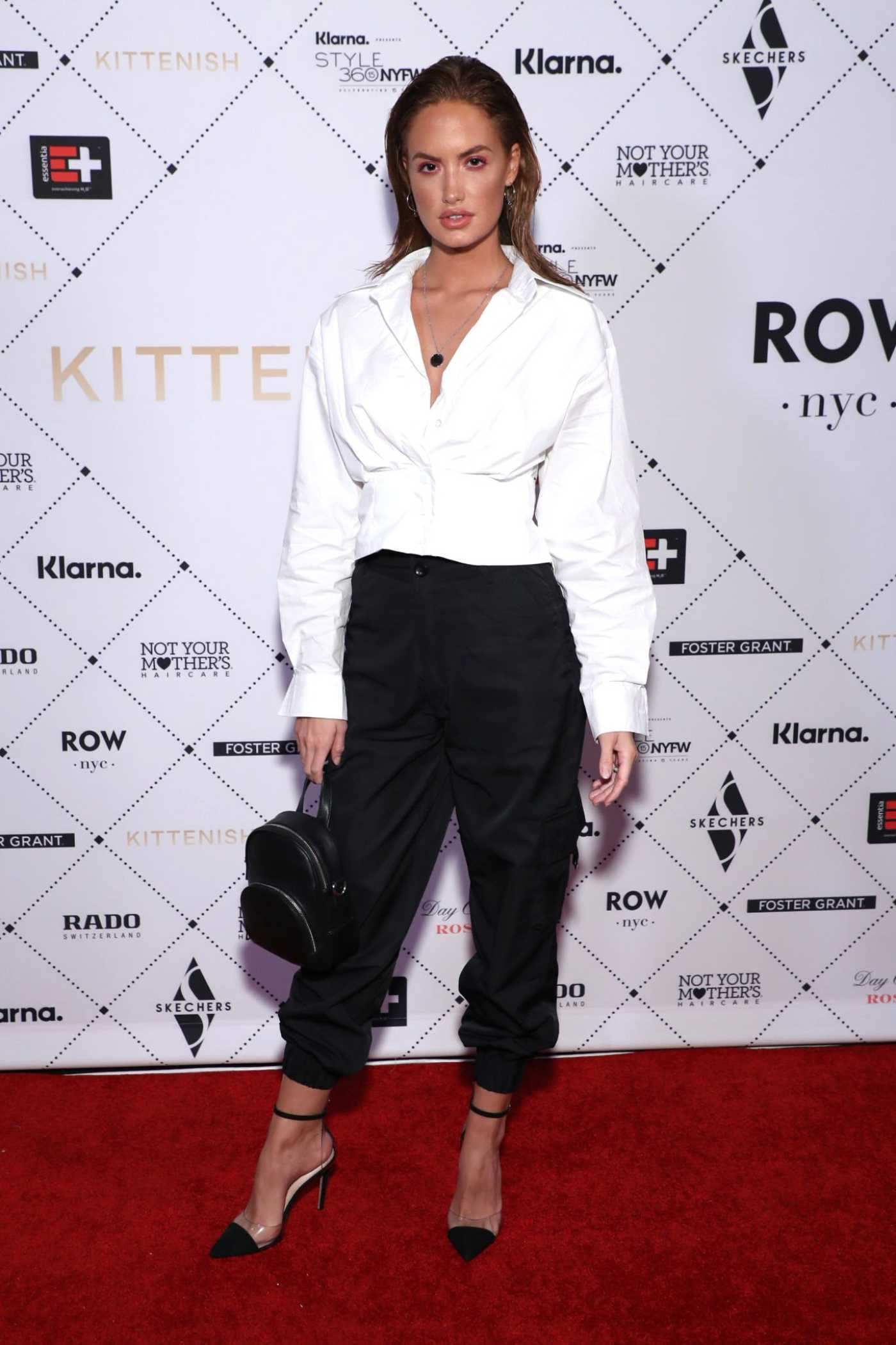 Haley Kalil Attends the Kittenish Fashion Show During New York Fashion Week in New York 09/09/2019