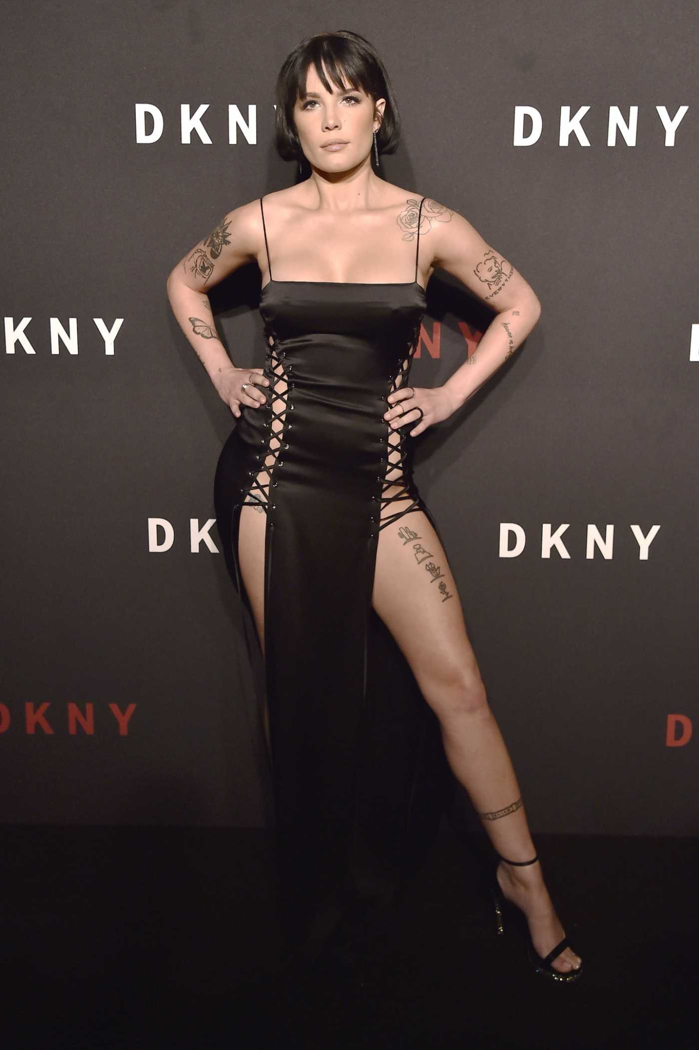 Halsey Attends the DKNY 30th Anniversary Party in New York City 09/09/2019