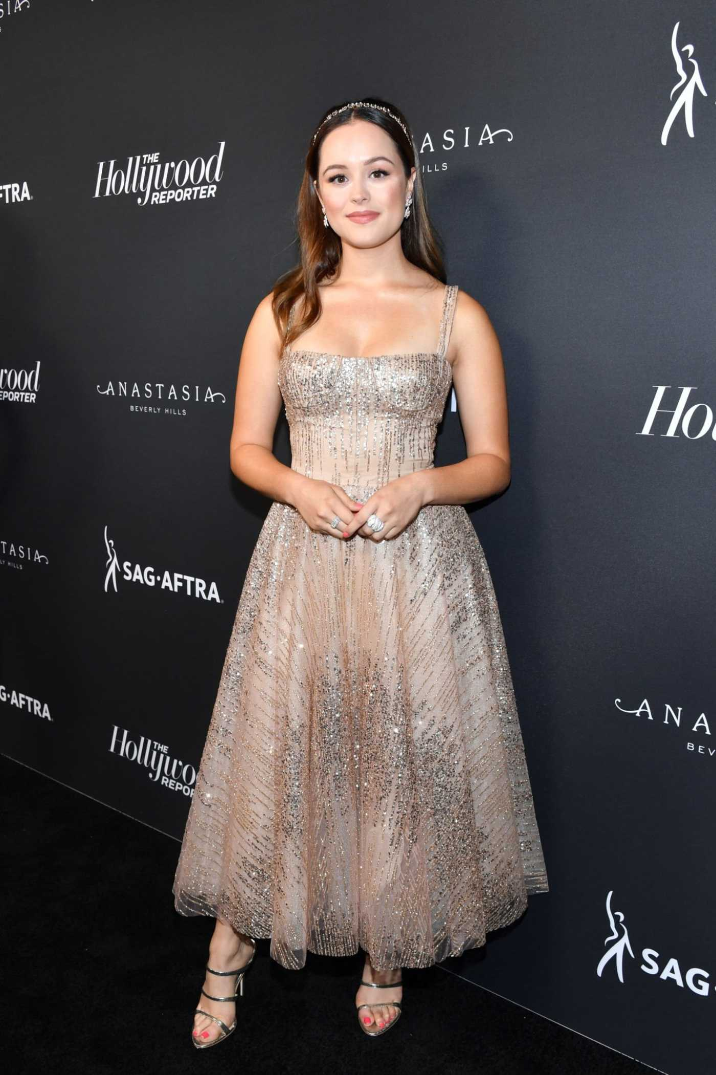Hayley Orrantia Attends The Hollywood Reporter Emmy Nominees Night in Beverly Hills 09/20/2019
