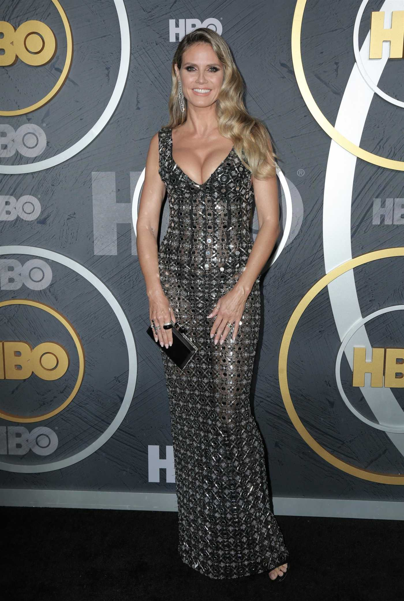 Heidi Klum Attends HBO's Official 2019 Emmy After Party in LA 09/22/2019