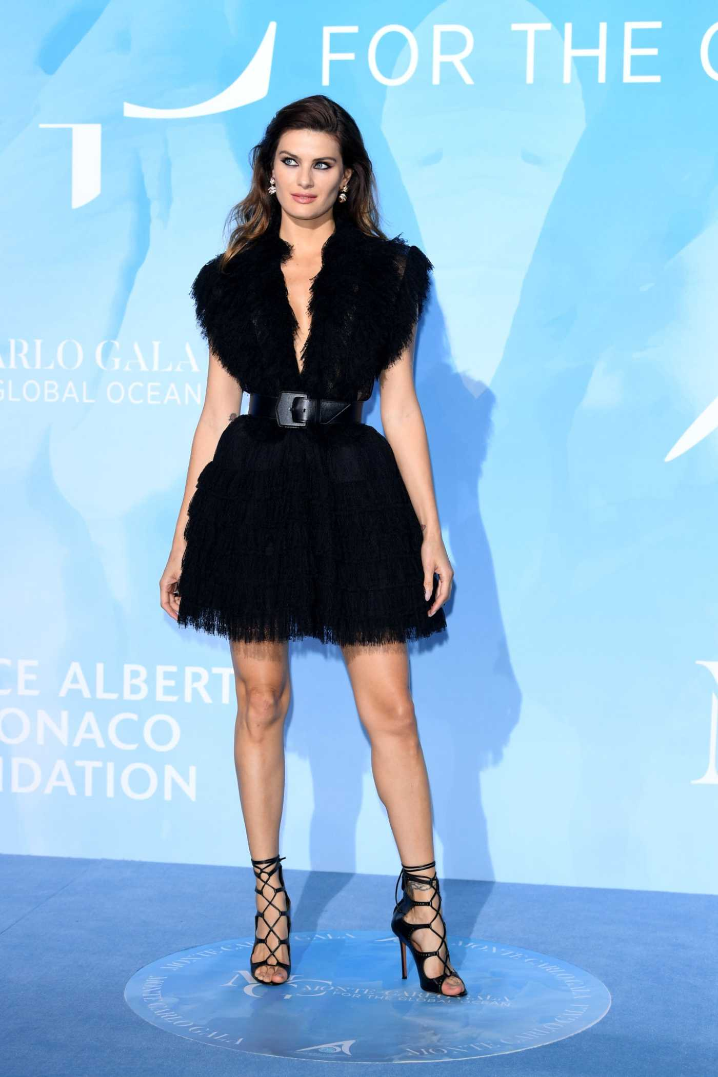 Isabeli Fontana Attends the Gala for the Global Ocean in Monte-Carlo 09/26/2019
