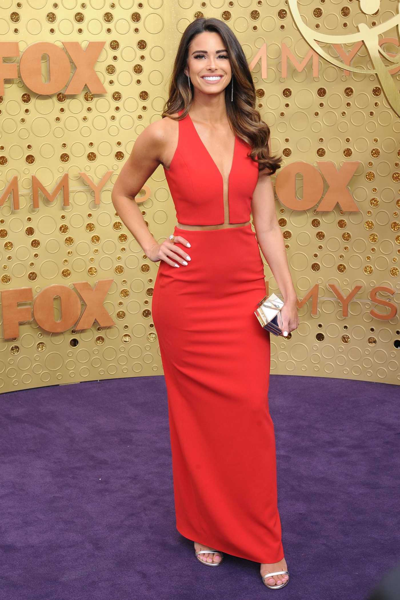 Jennifer Lahmers Attends the 71st Emmy Awards at Microsoft Theater in Los Angeles 09/22/2019