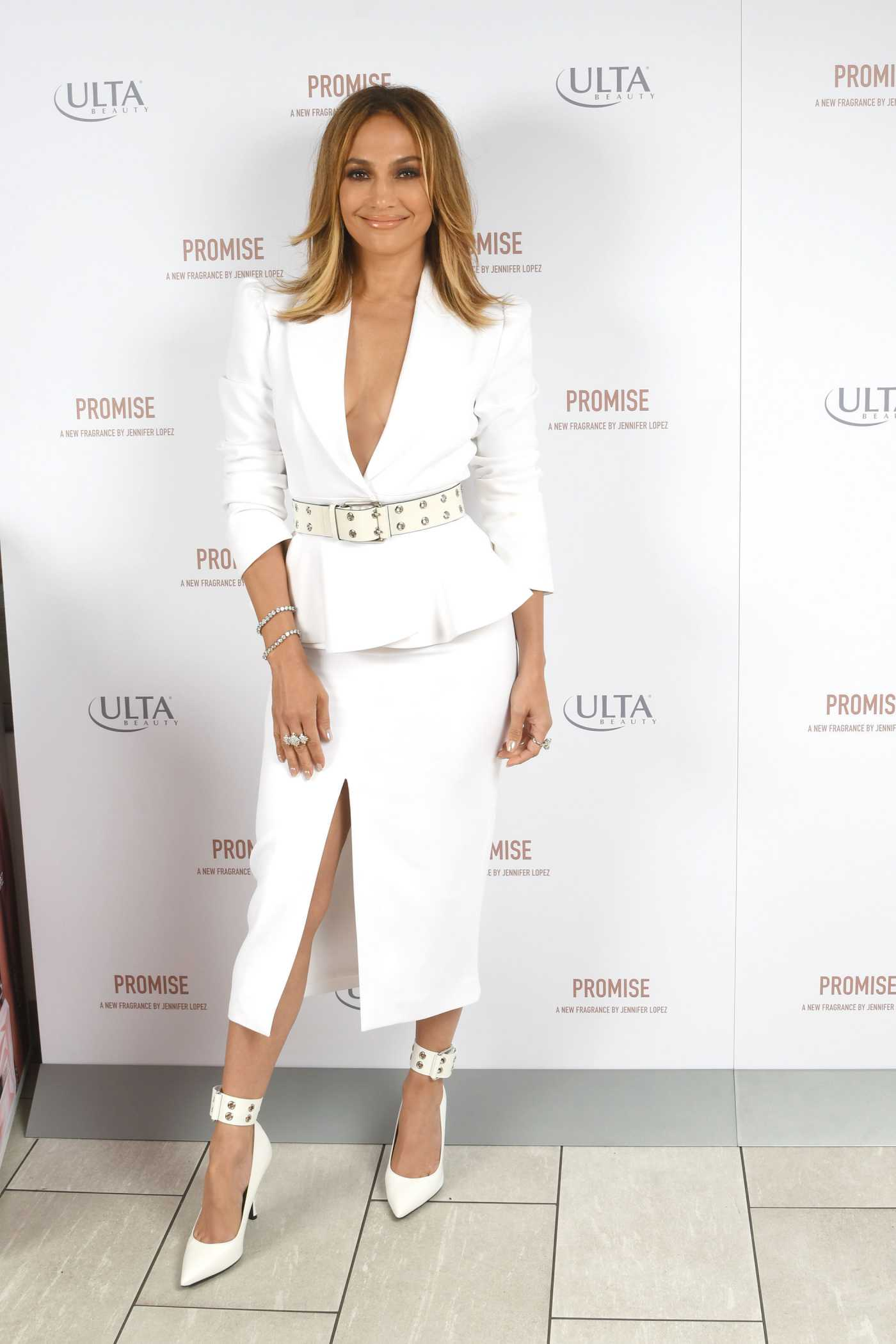 Jennifer Lopez Attends the Promise Perfume Launch in New York 09/26/2019