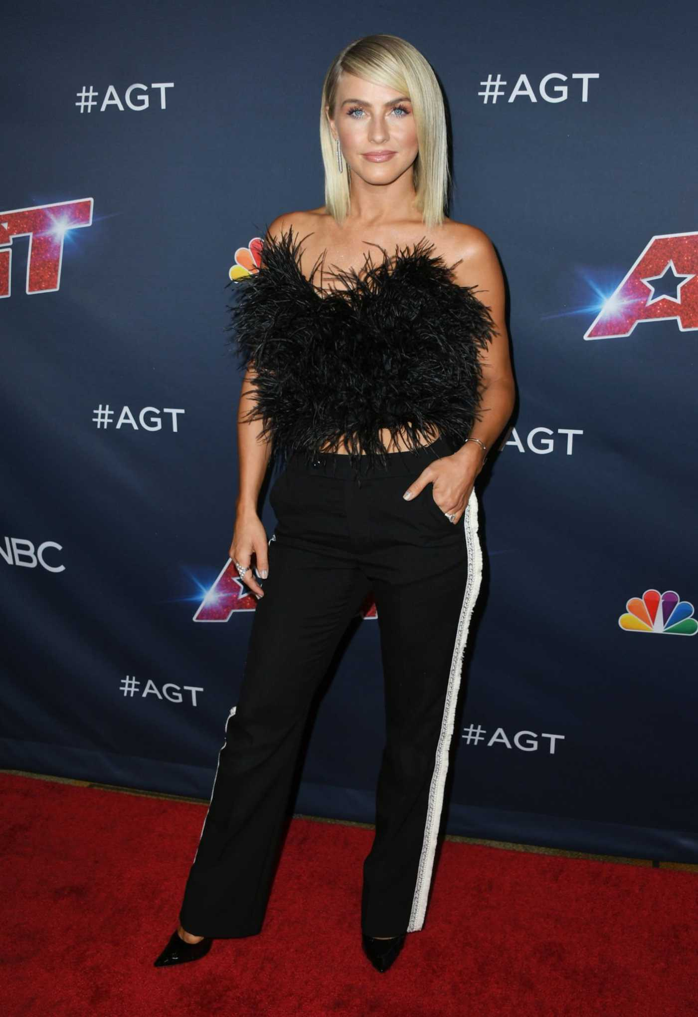 Julianne Hough Attends America's Got Talent Season 14 Live Show in Hollywood 09/03/2019
