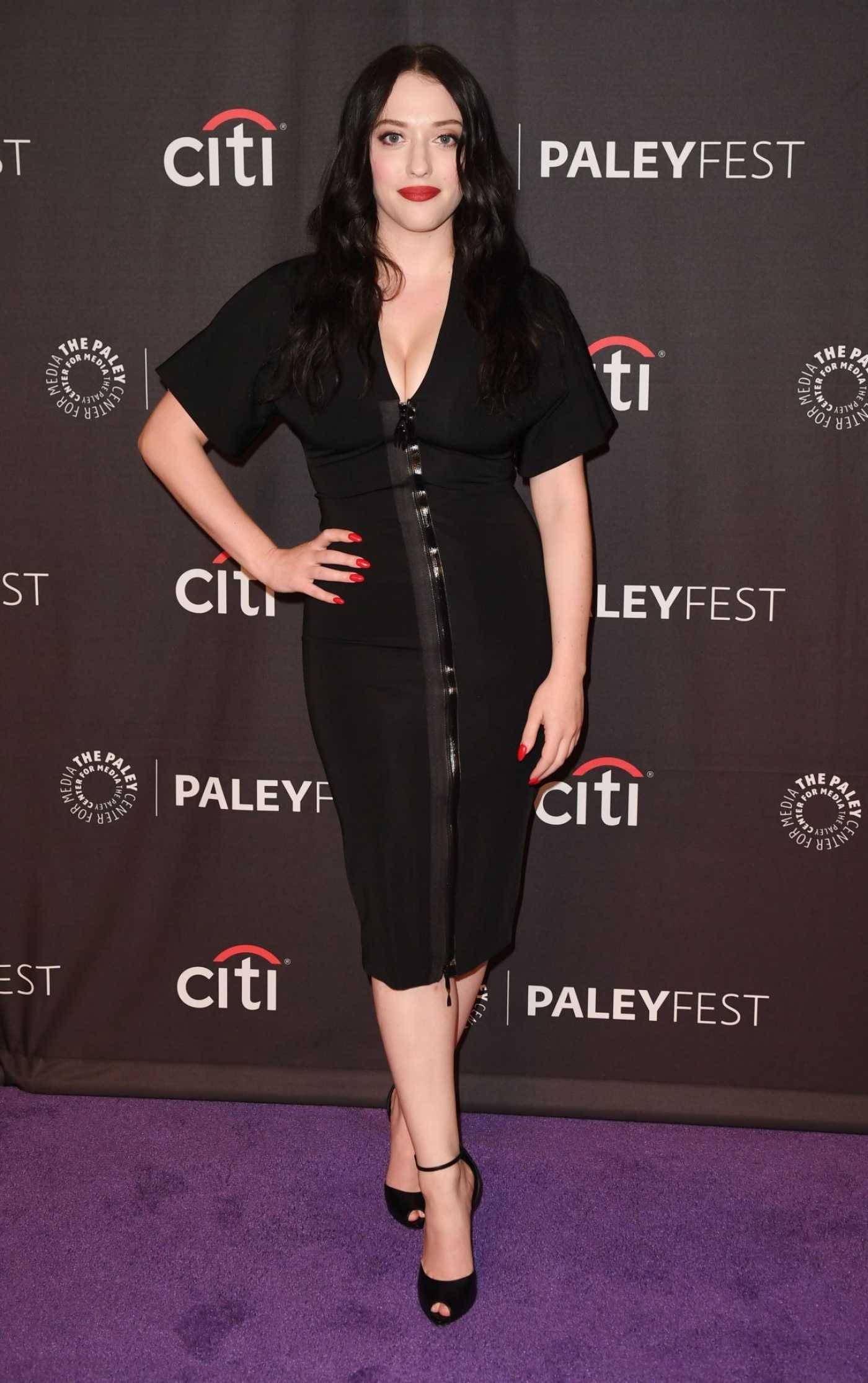 Kat Dennings Attends Hulu's Dollface Presentation at PaleyFest in Beverly Hills 09/10/2019