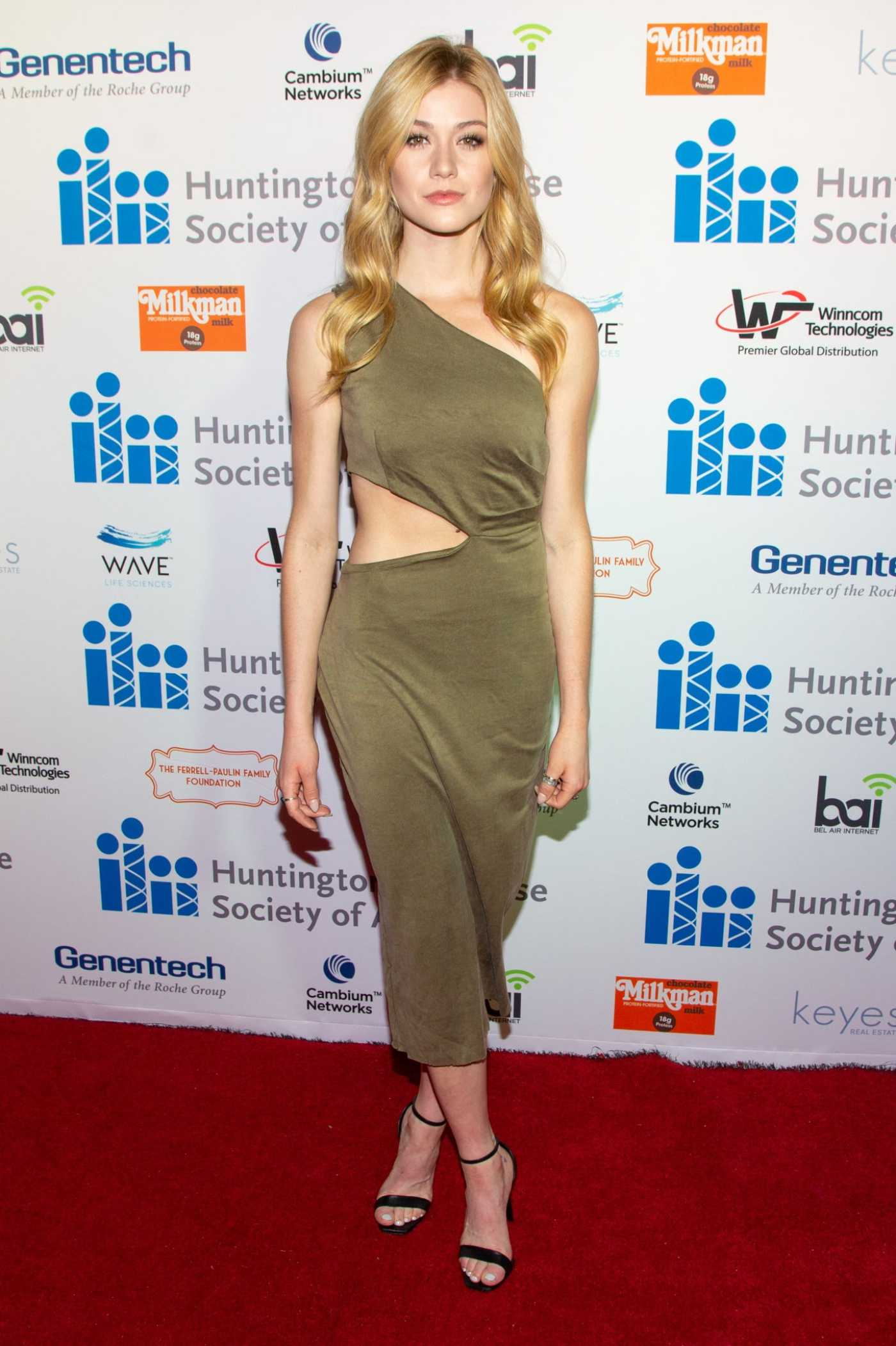 Katherine McNamara Attends the 5th Annual Freeze HD Gala in Los Angeles 09/28/2019